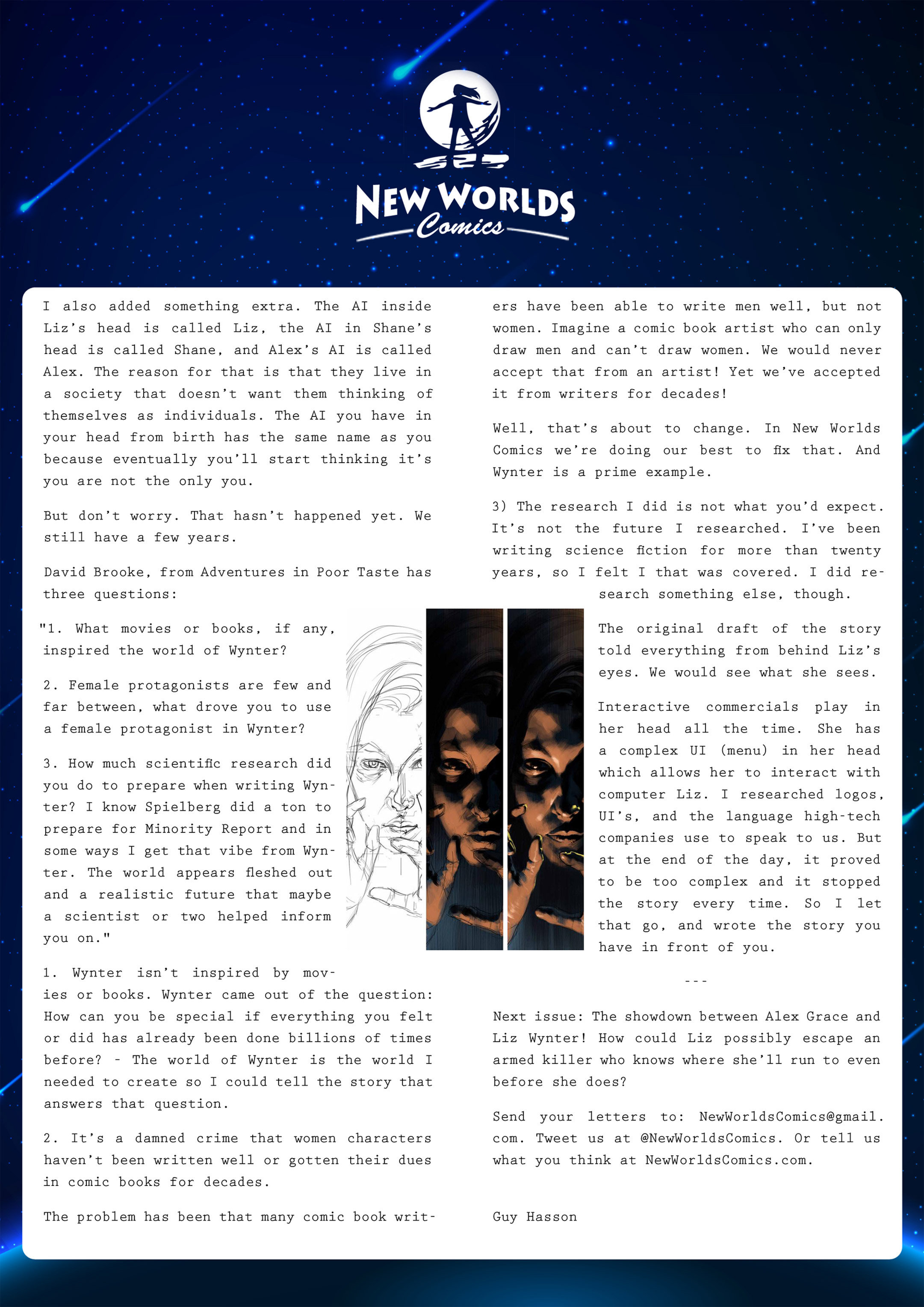 Read online Wynter comic -  Issue #2 - 25