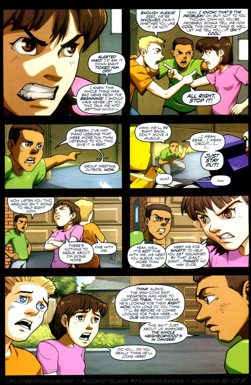 Read online Transformers Armada comic -  Issue #4 - 15