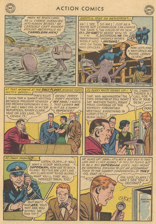 Read online Action Comics (1938) comic -  Issue #283 - 7