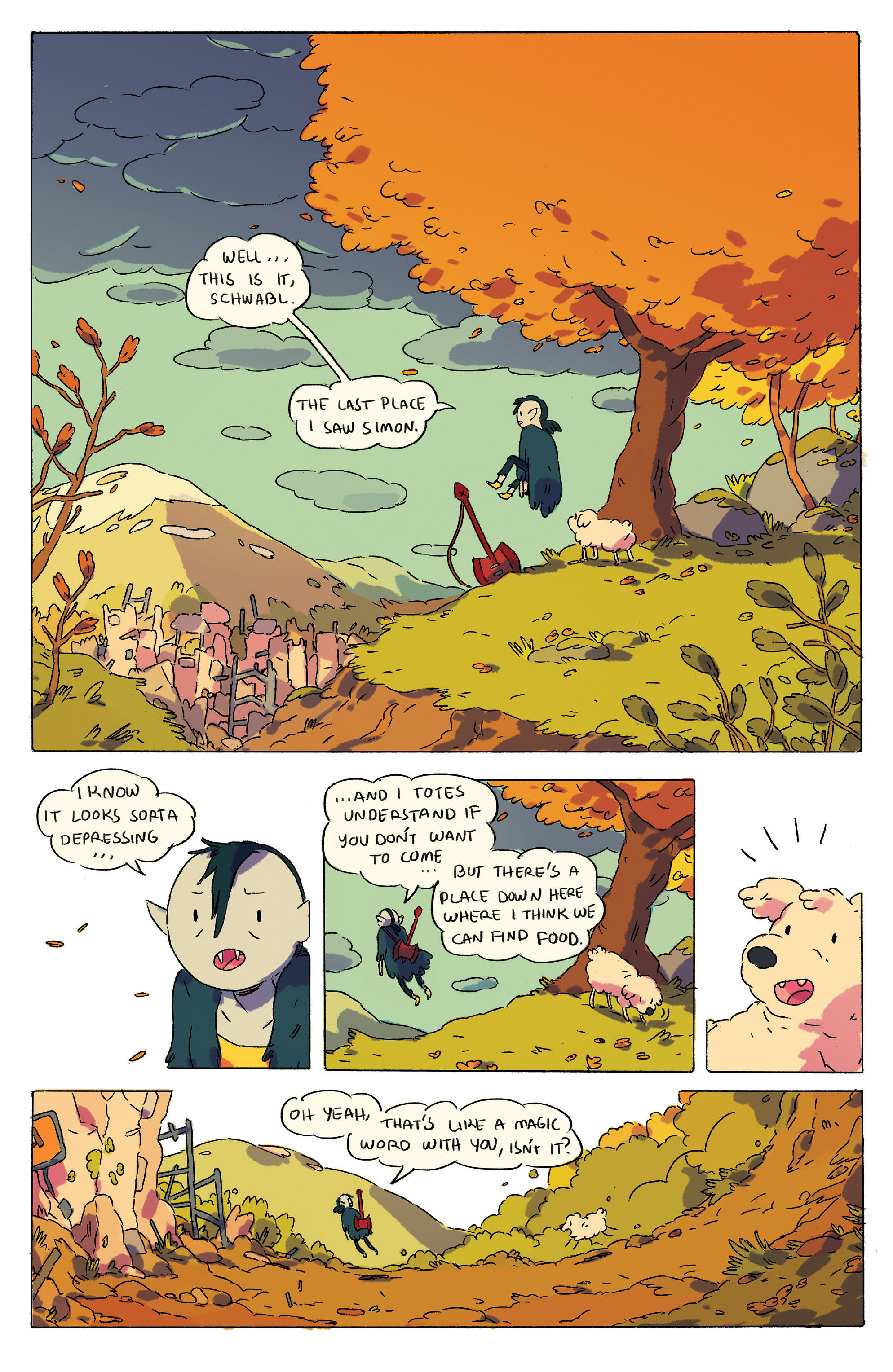 Read online Adventure Time comic -  Issue # _2015 Spoooktacular - 3