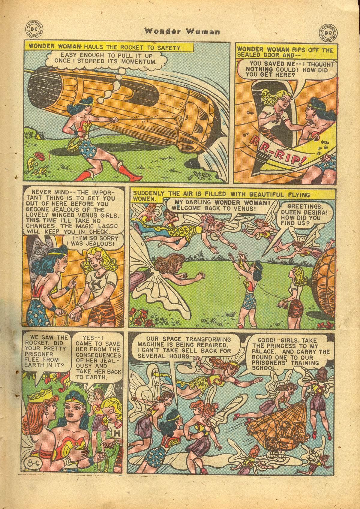 Read online Wonder Woman (1942) comic -  Issue #22 - 45