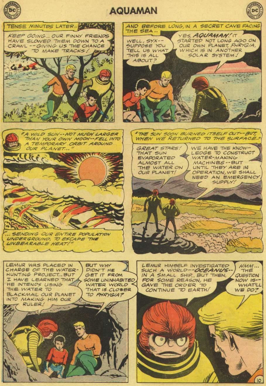 Read online Aquaman (1962) comic -  Issue #8 - 14