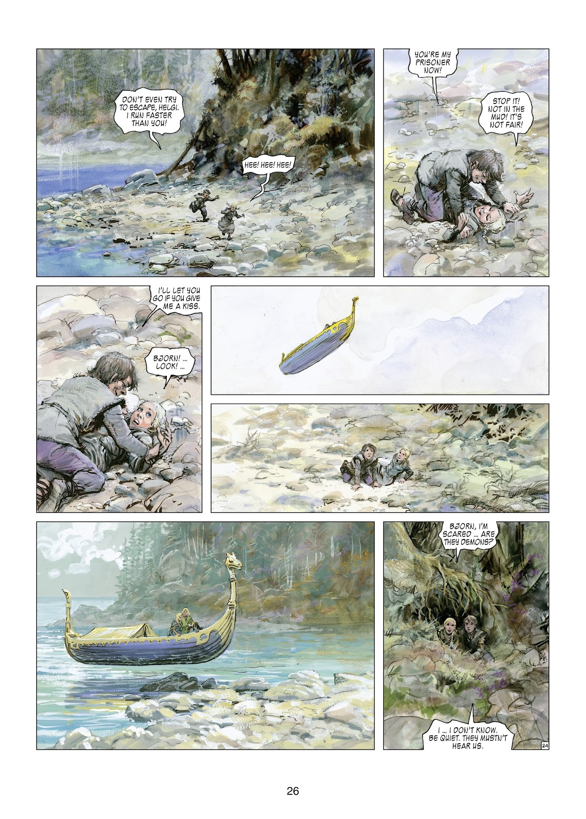 Read online Thorgal comic -  Issue #21 - 28