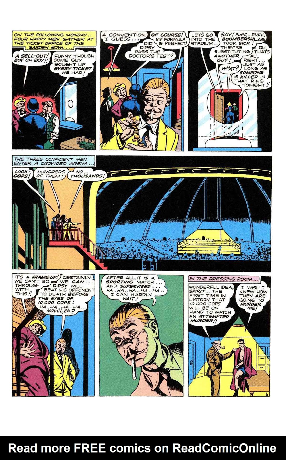 Read online Will Eisner's The Spirit Archives comic -  Issue # TPB 2 (Part 1) - 94