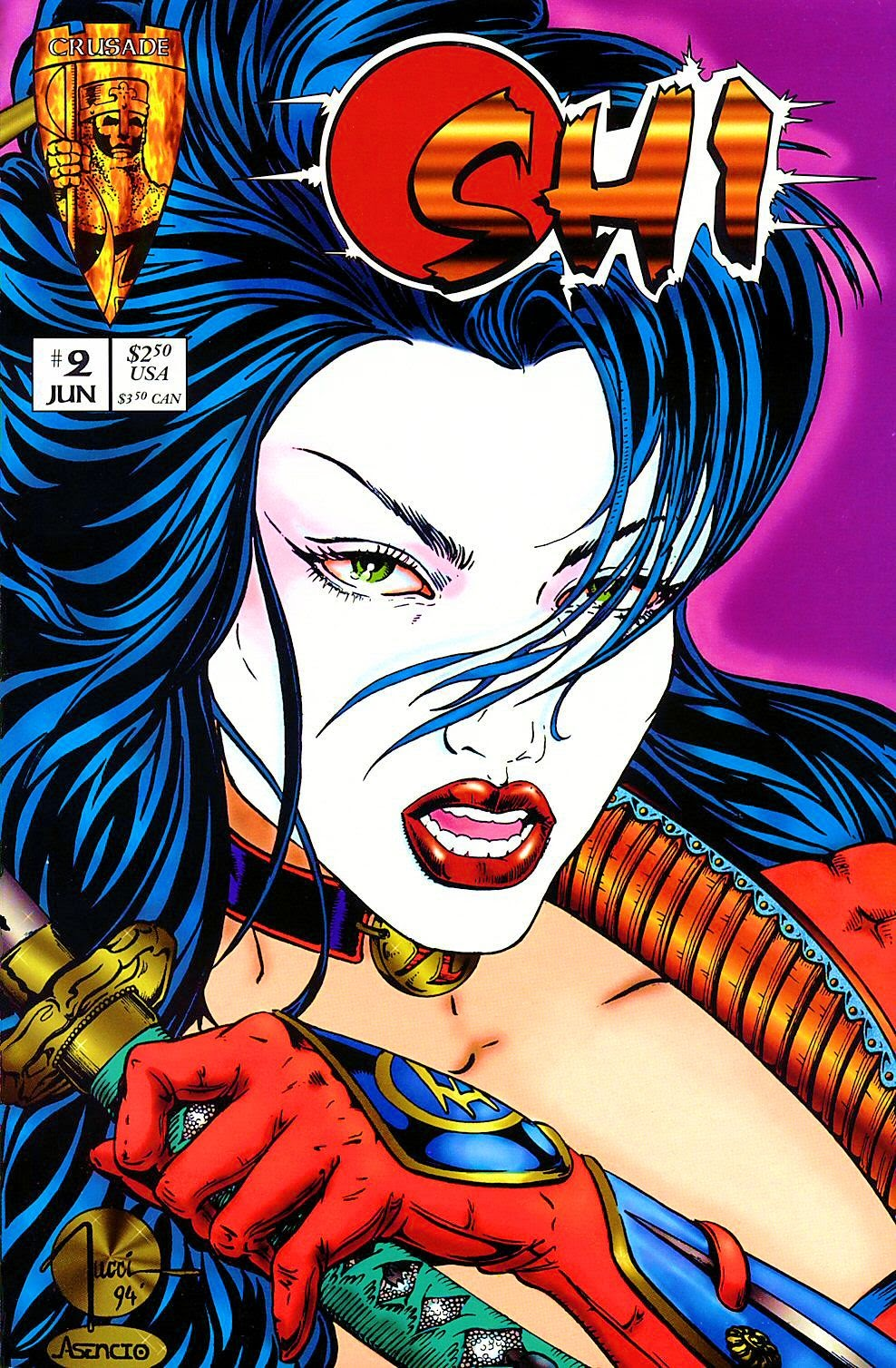 Read online Shi: The Way of the Warrior comic -  Issue #2 - 1