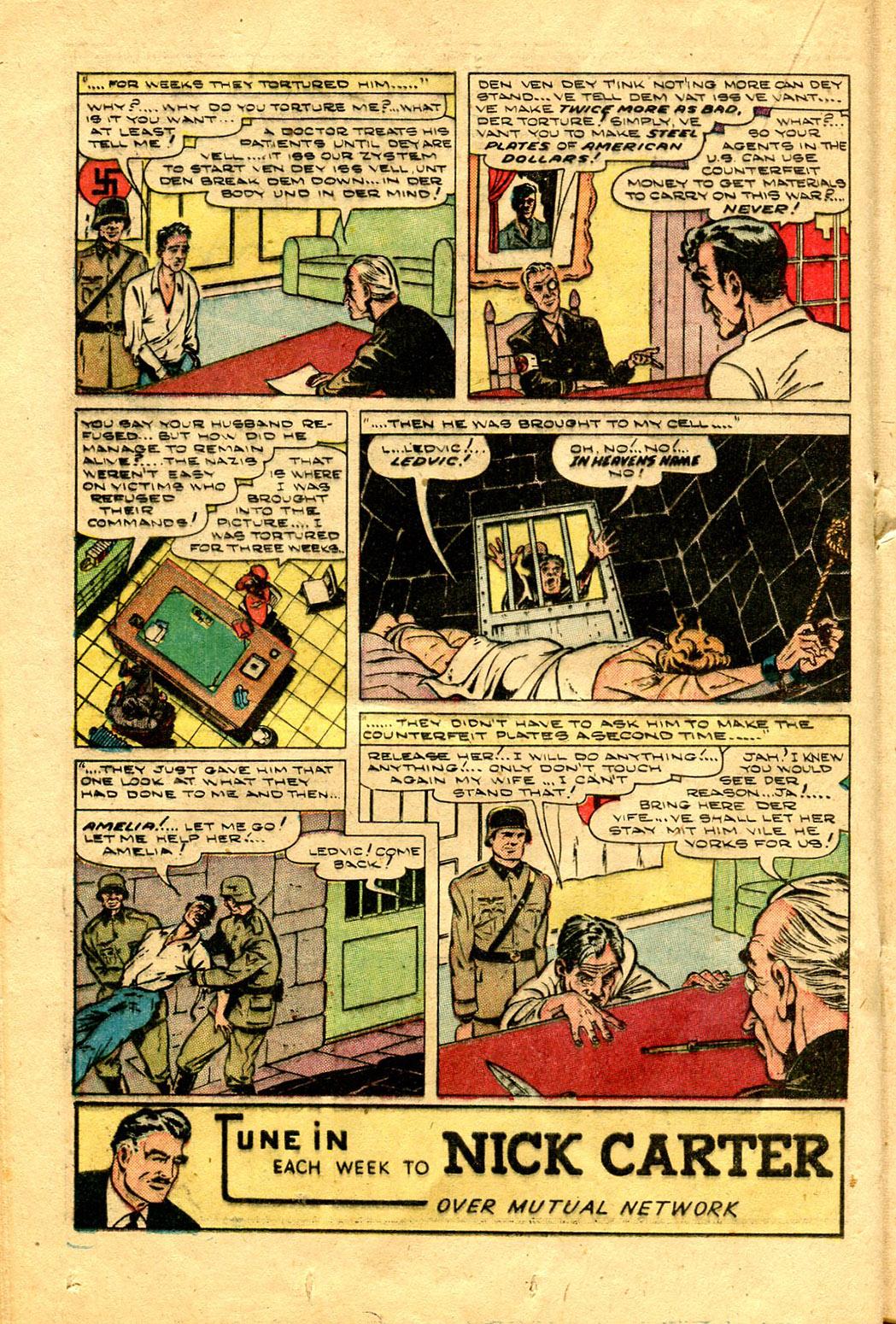 Read online Shadow Comics comic -  Issue #100 - 28