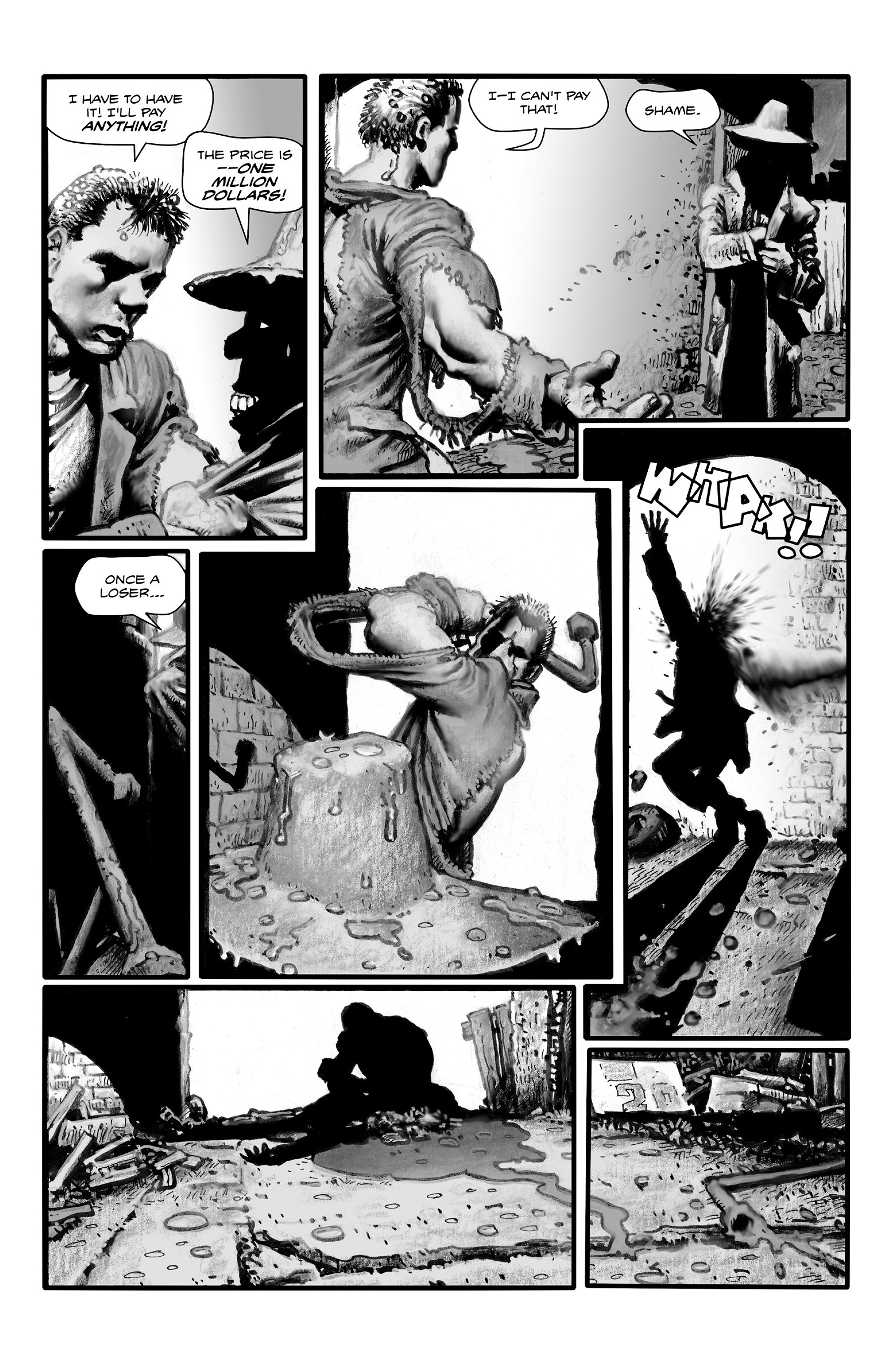 Read online Shadows on the Grave comic -  Issue #4 - 14