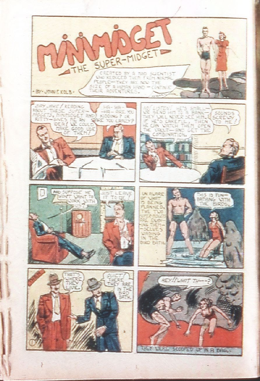 Read online Amazing Man Comics comic -  Issue #9 - 37
