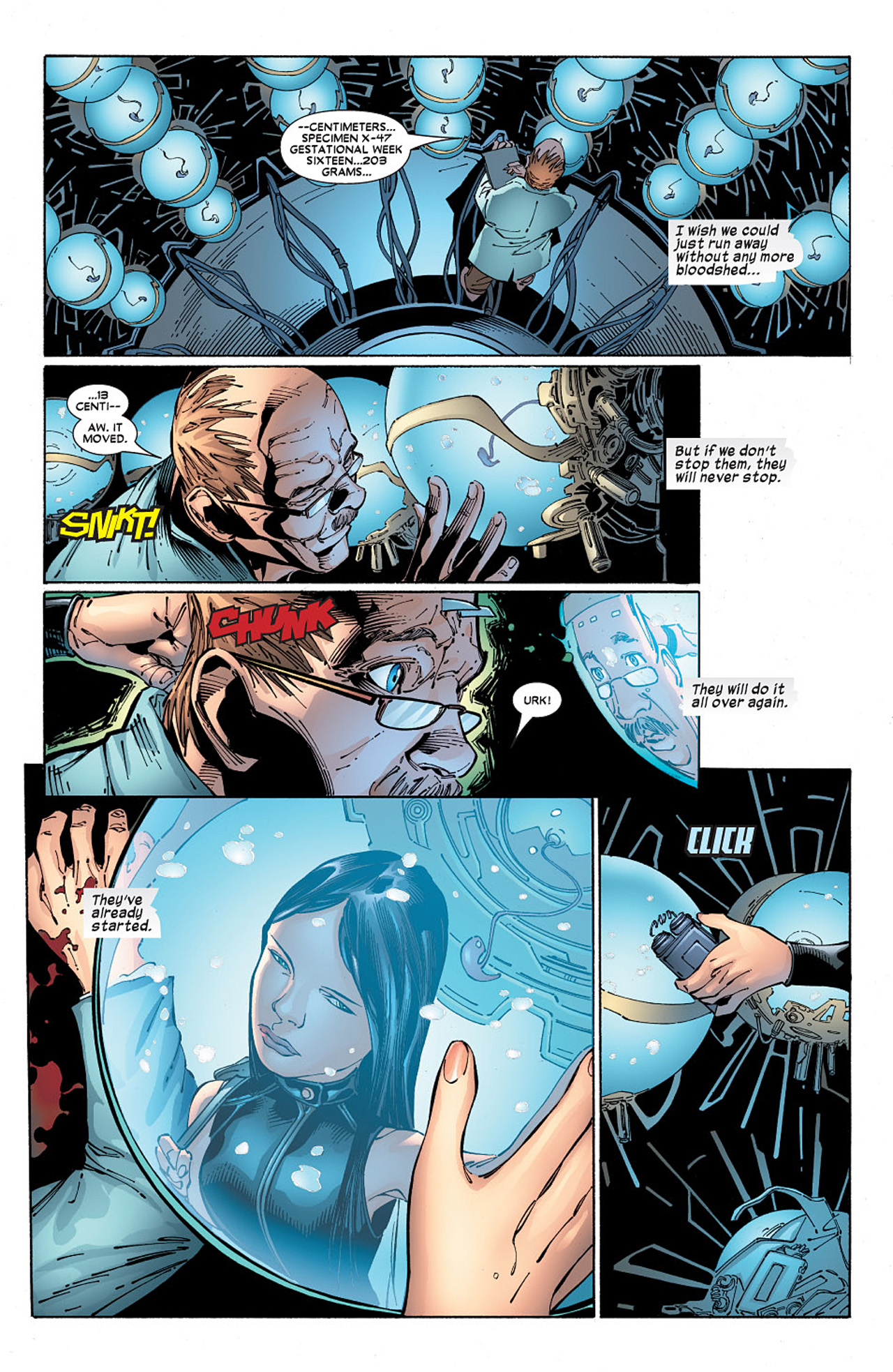 Read online X-23 (2005) comic -  Issue #6 - 6