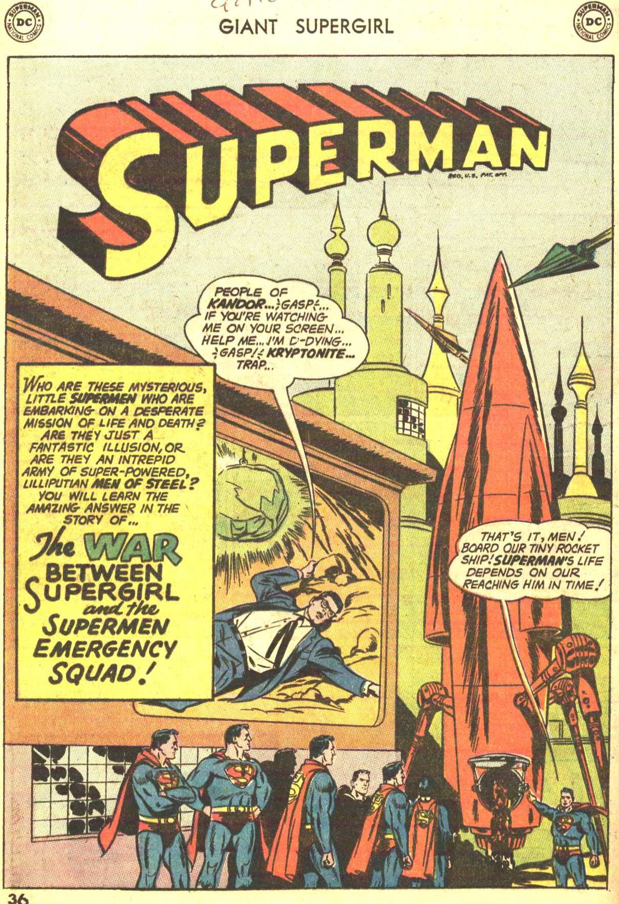 Read online Action Comics (1938) comic -  Issue #373 - 34