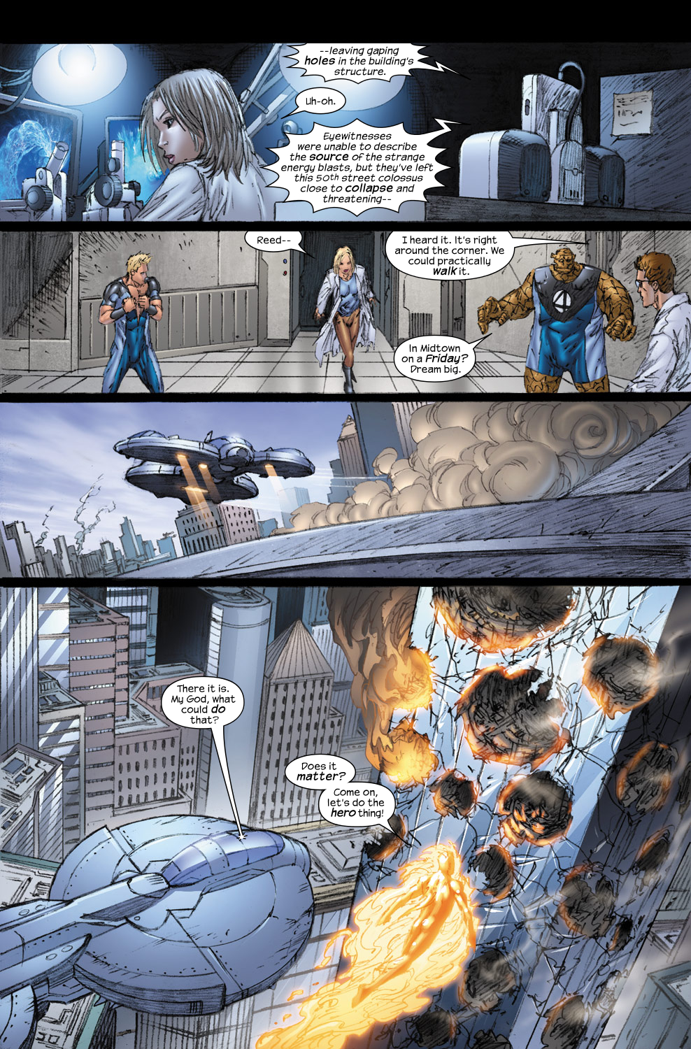 Read online Ultimate Fantastic Four (2004) comic -  Issue #54 - 21