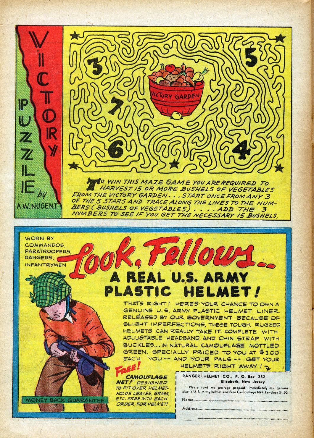 Read online Sensation (Mystery) Comics comic -  Issue #40 - 42