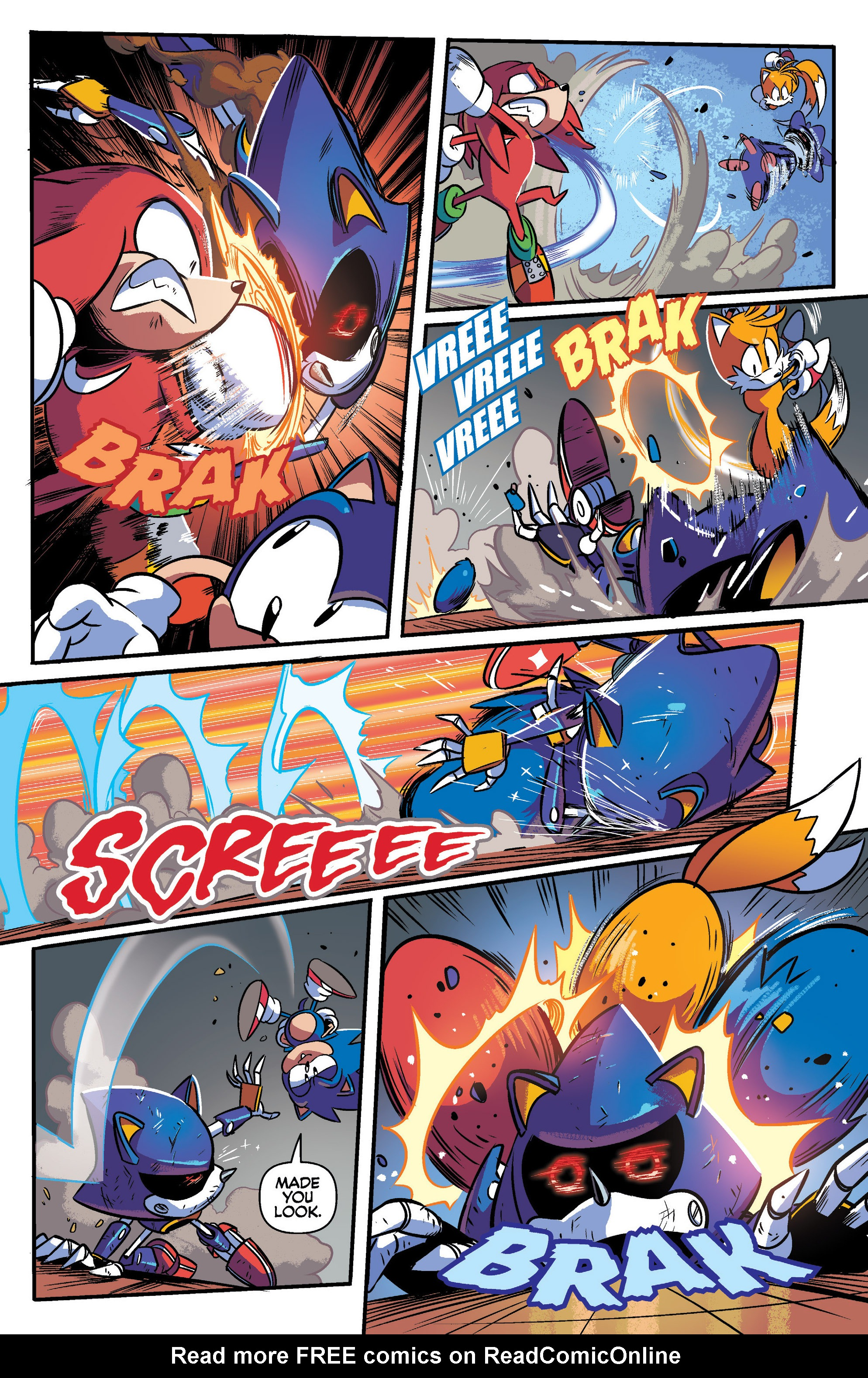 Read online Sonic Mega Drive: Next Level comic -  Issue # Full - 29