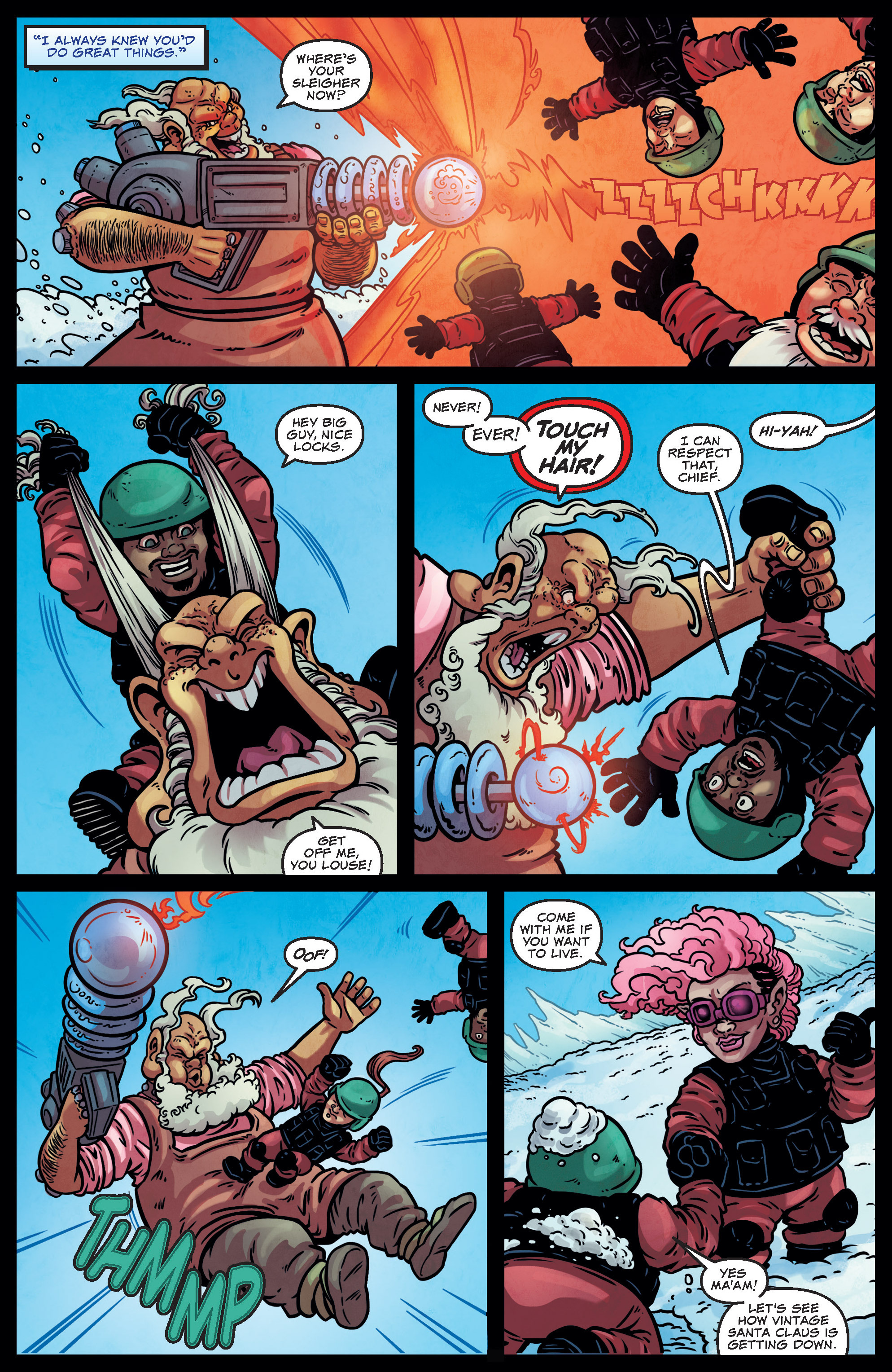 Read online Sleigher comic -  Issue #3 - 17