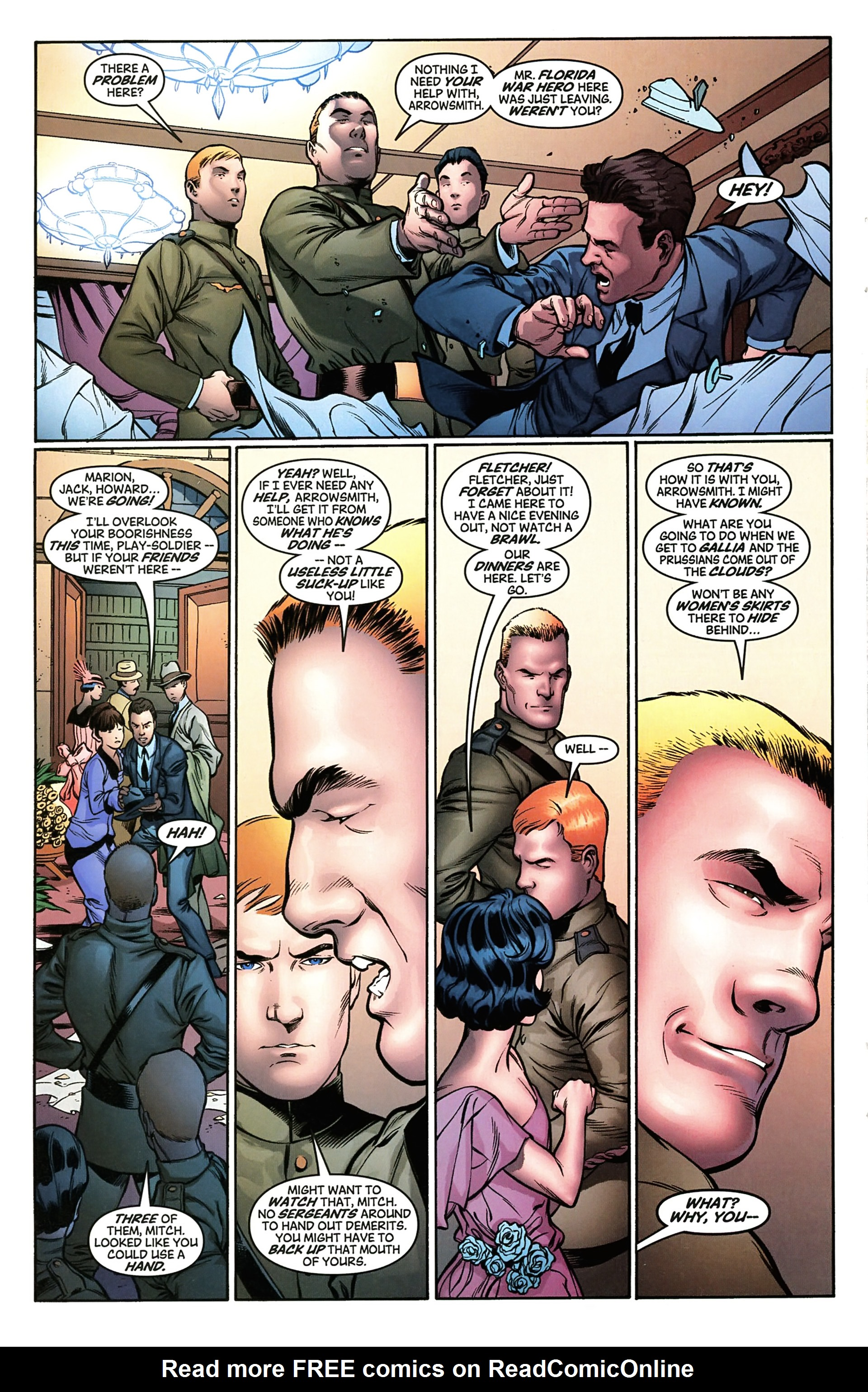 Read online Arrowsmith comic -  Issue #2 - 17