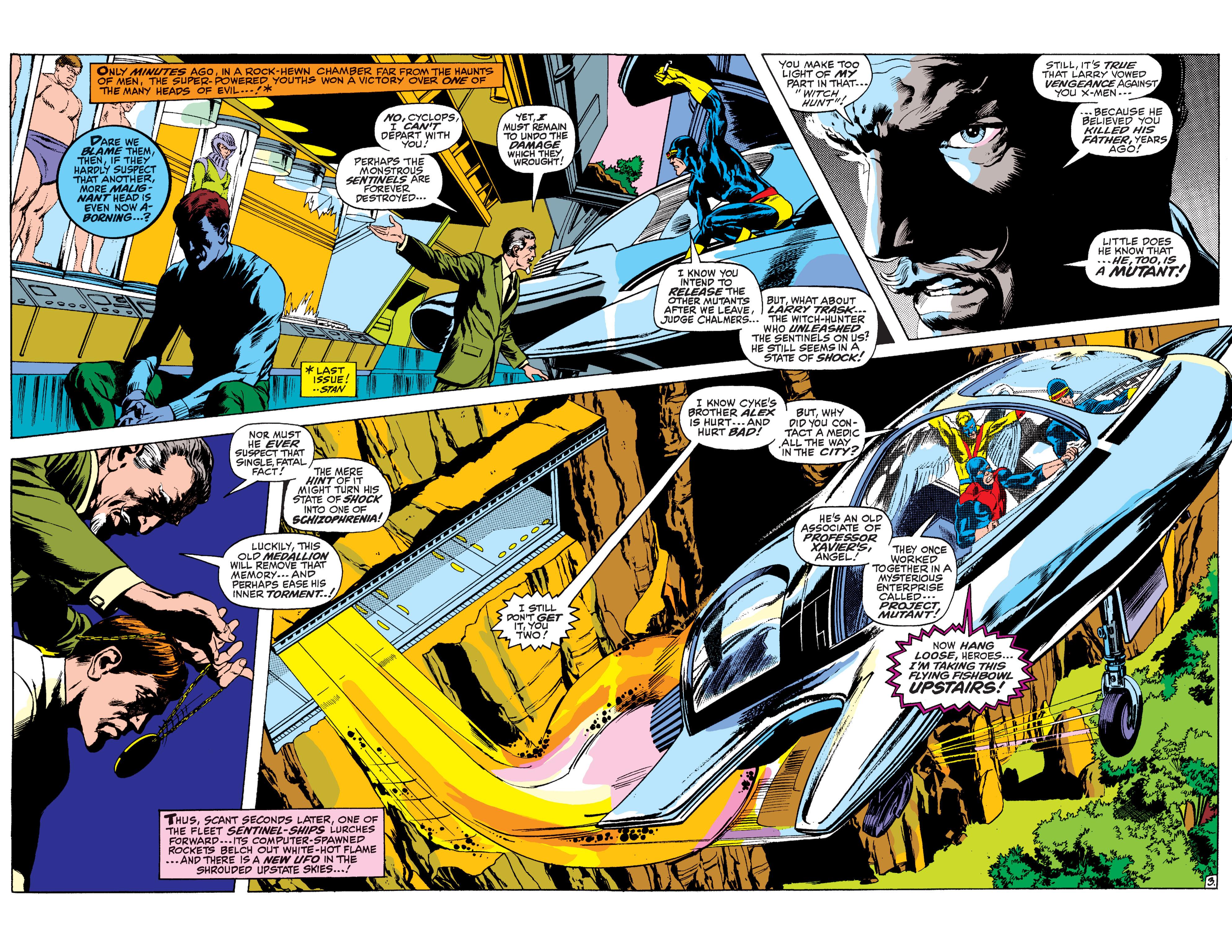Read online Uncanny X-Men (1963) comic -  Issue #60 - 3