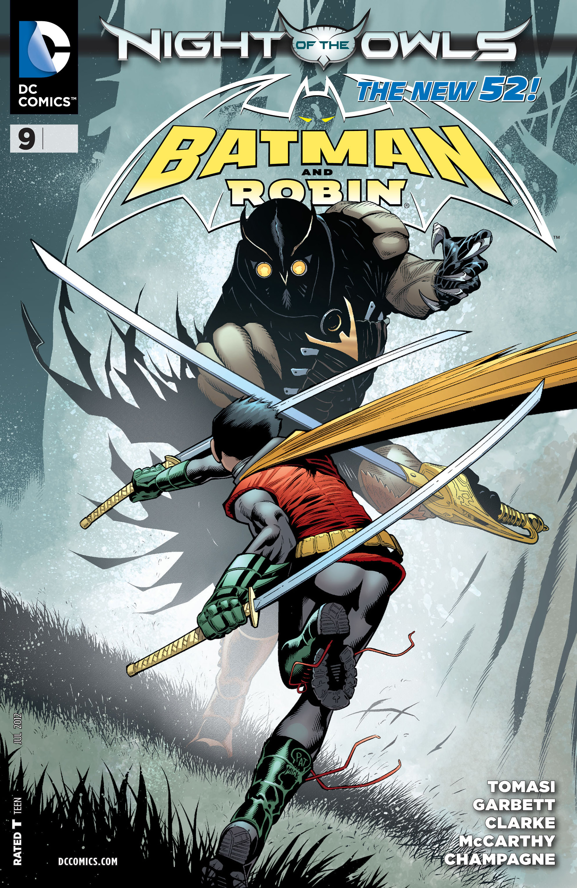 Read online Batman and Robin (2011) comic -  Issue #9 - 1