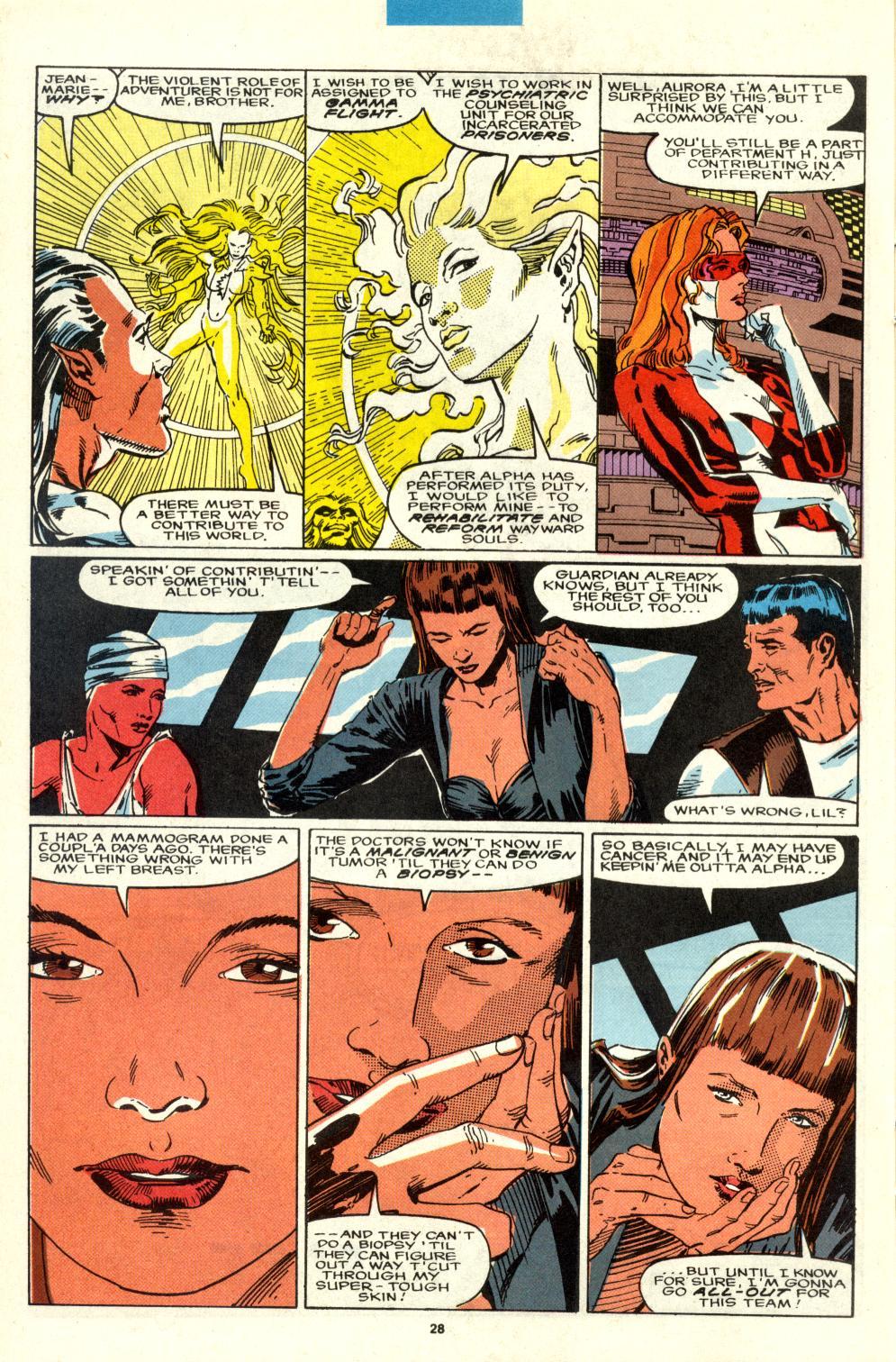 Read online Alpha Flight (1983) comic -  Issue #95 - 23