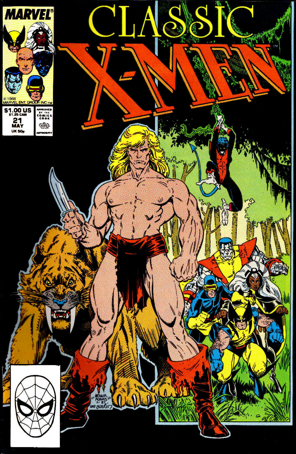 Classic X-Men 21 Page 1