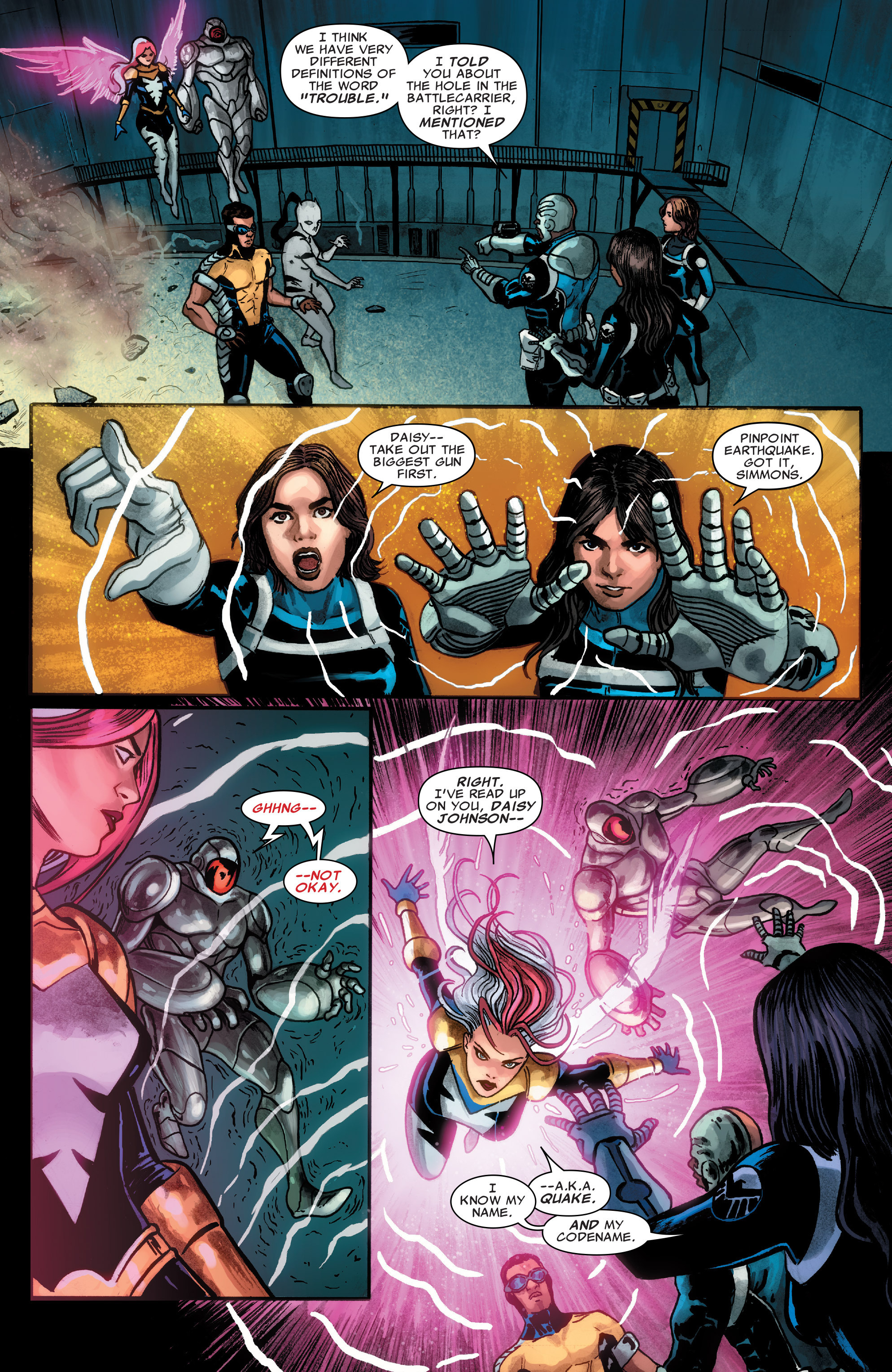 Read online Agents of S.H.I.E.L.D. comic -  Issue #4 - 5