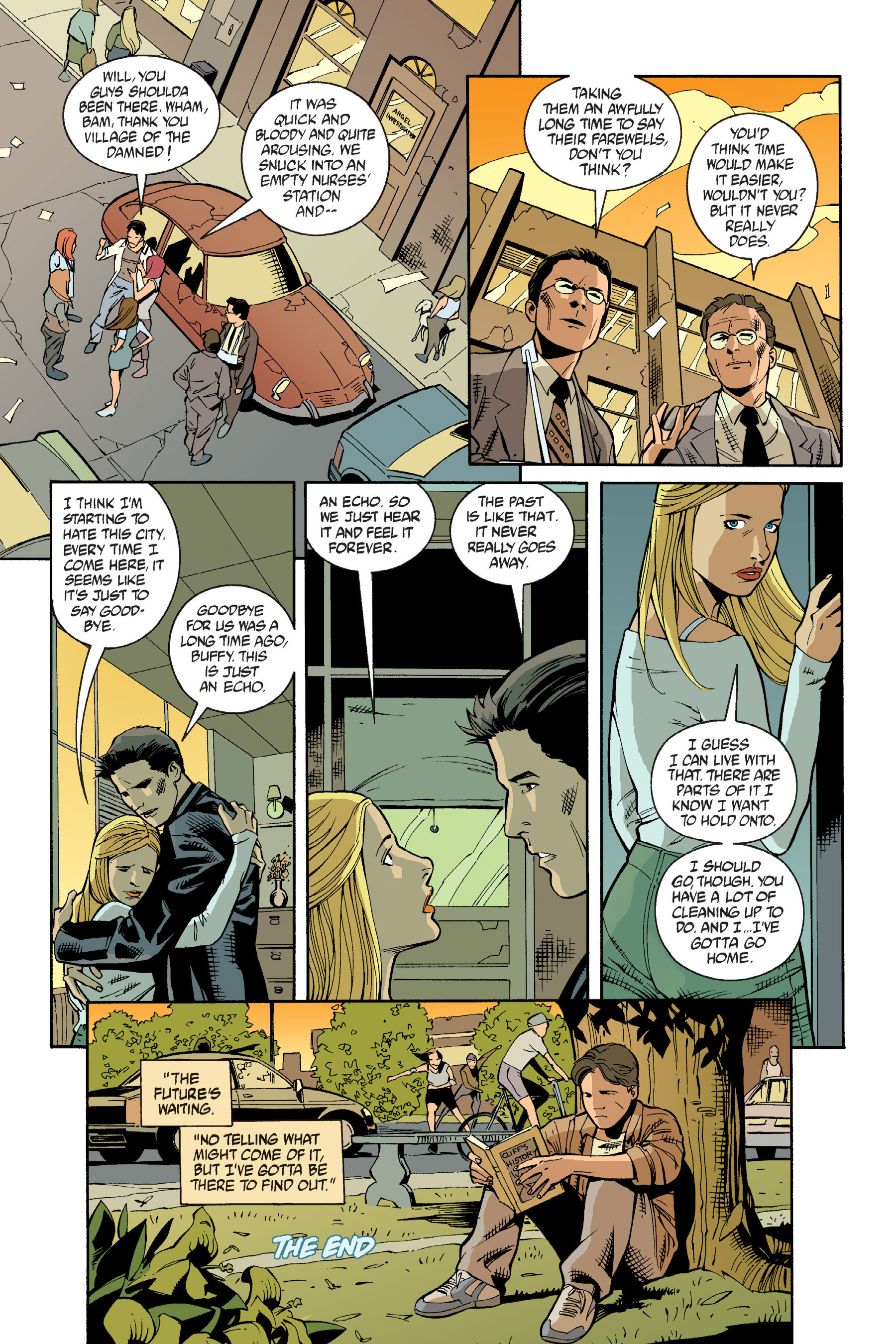 Read online Buffy the Vampire Slayer: Omnibus comic -  Issue # TPB 6 - 182
