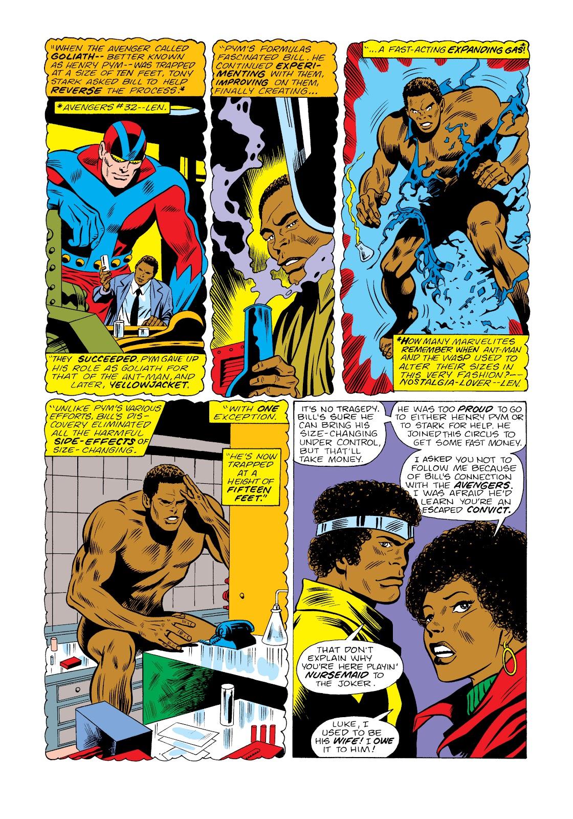 Read online Marvel Masterworks: Luke Cage, Power Man comic -  Issue # TPB 2 (Part 2) - 52
