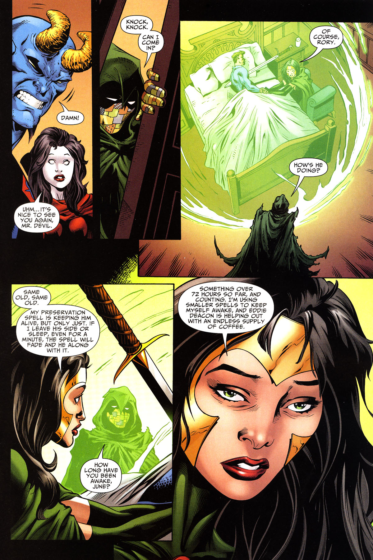 Read online Shadowpact comic -  Issue #10 - 8