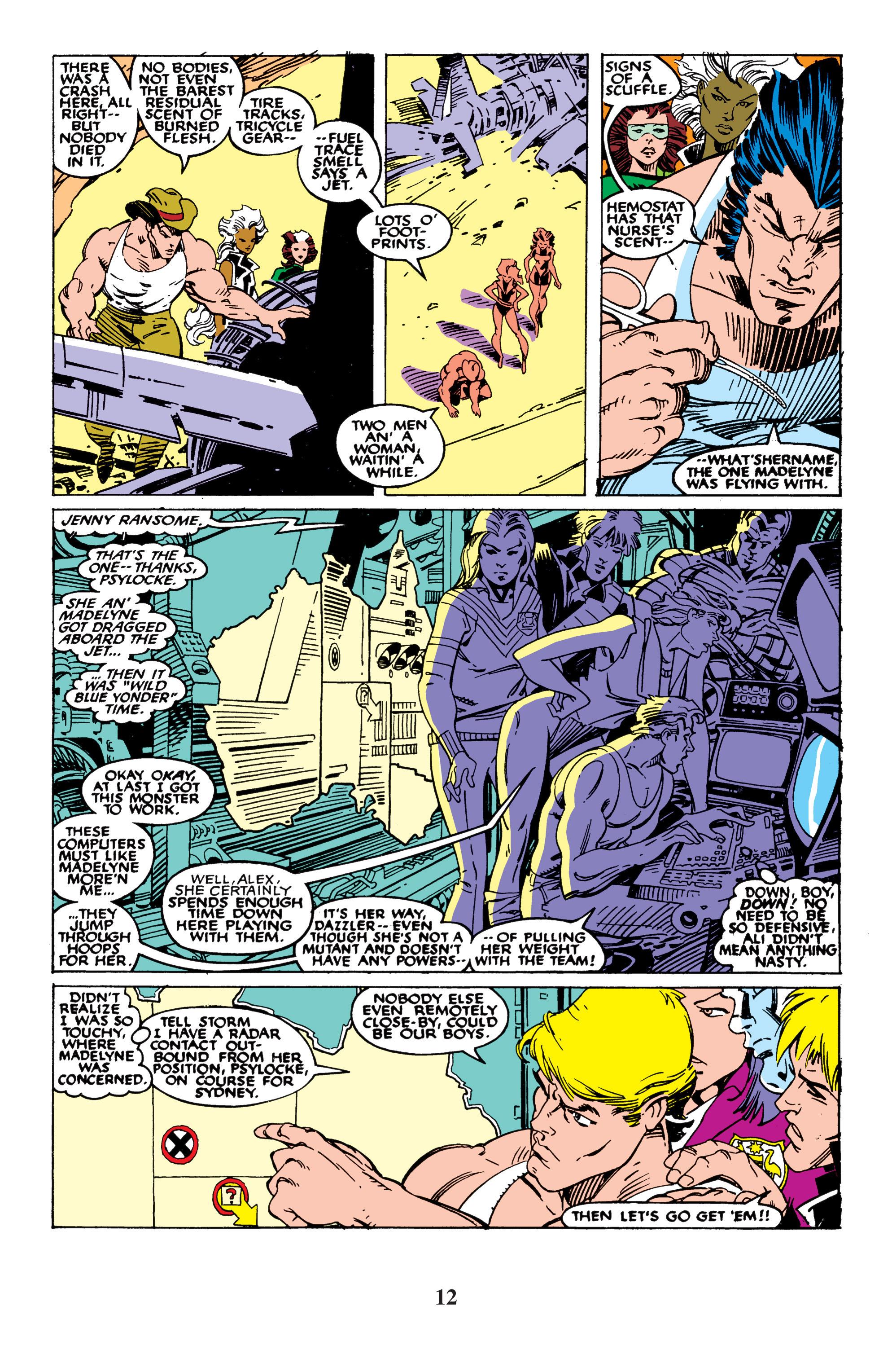 Read online Uncanny X-Men (1963) comic -  Issue #235 - 12