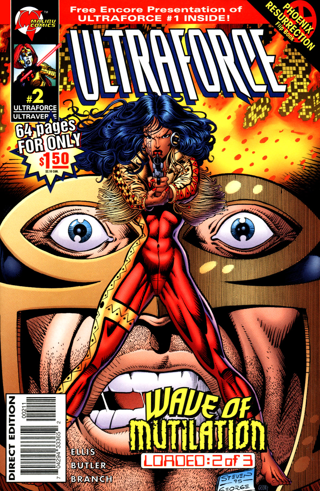 Read online UltraForce (1995) comic -  Issue #2 - 1