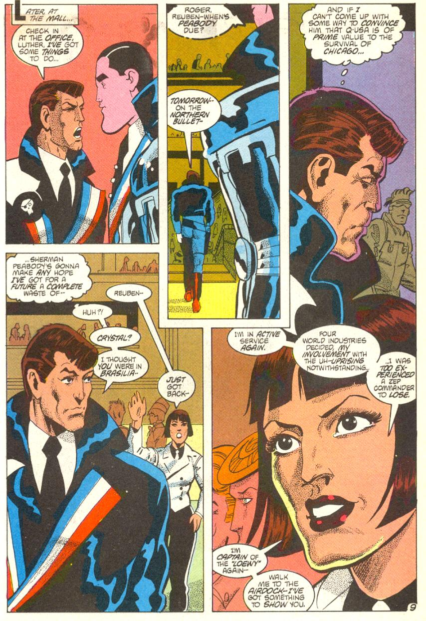 Read online American Flagg! comic -  Issue #14 - 10