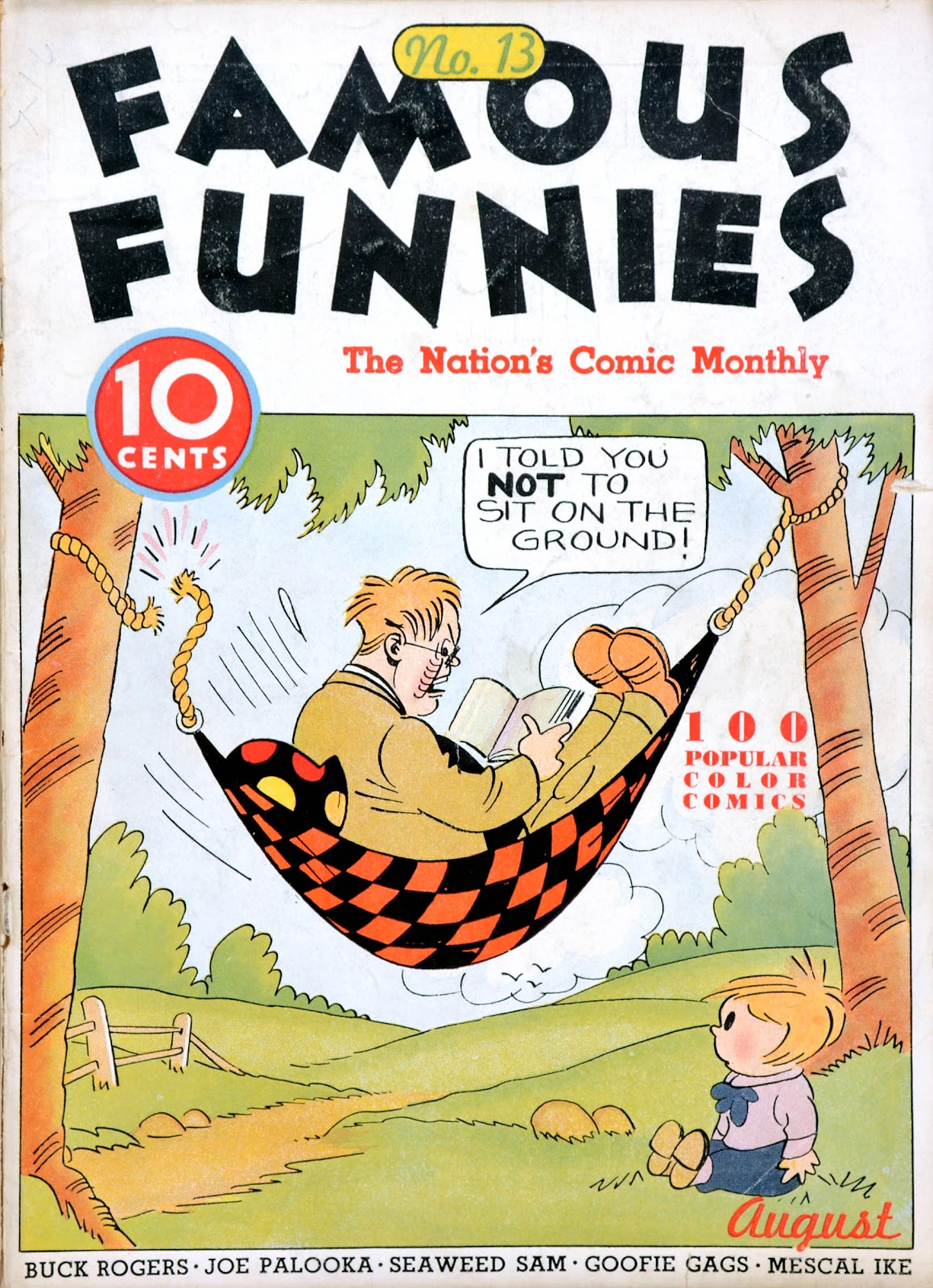 Read online Famous Funnies comic -  Issue #13 - 1