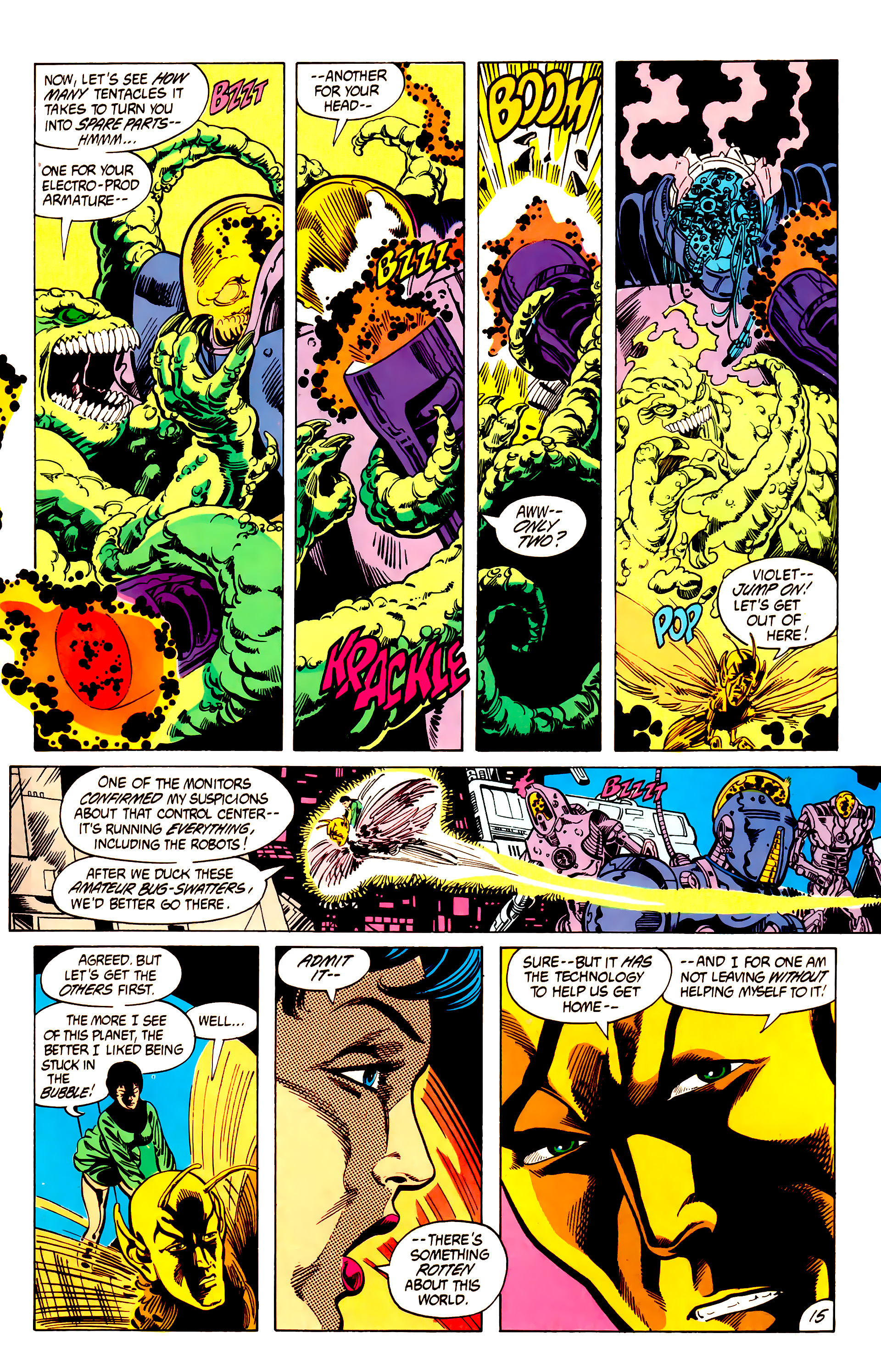 Legion of Super-Heroes (1984) 7 Page 16