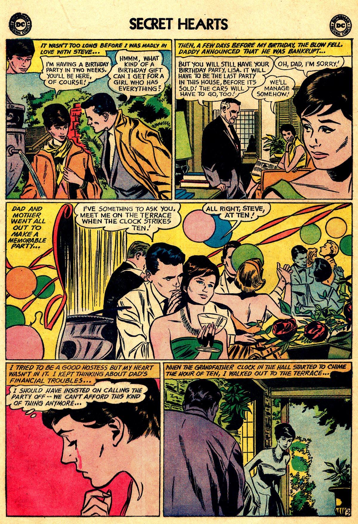 Read online Secret Hearts comic -  Issue #93 - 12