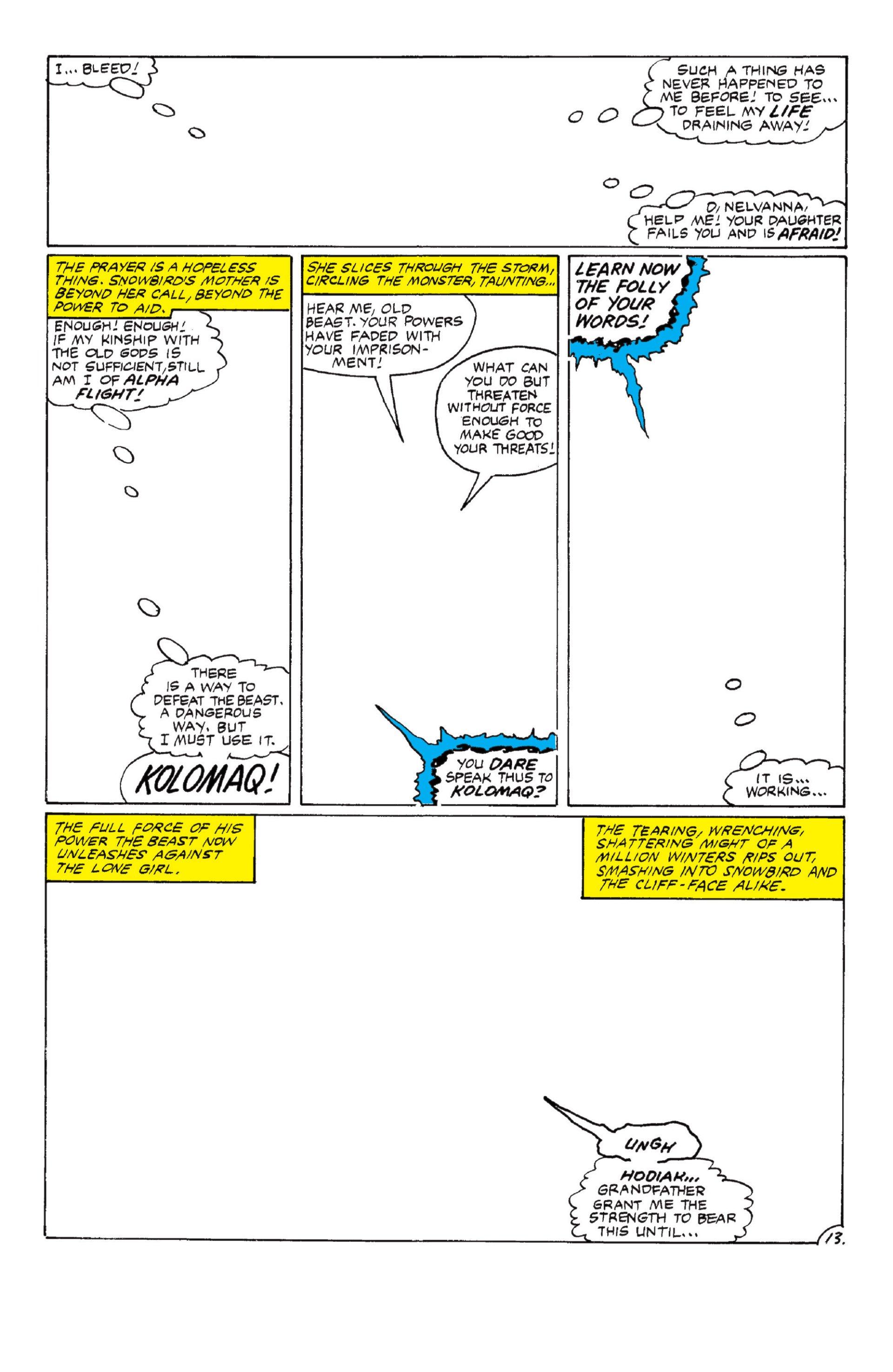 Read online Alpha Flight (1983) comic -  Issue #6 - 14