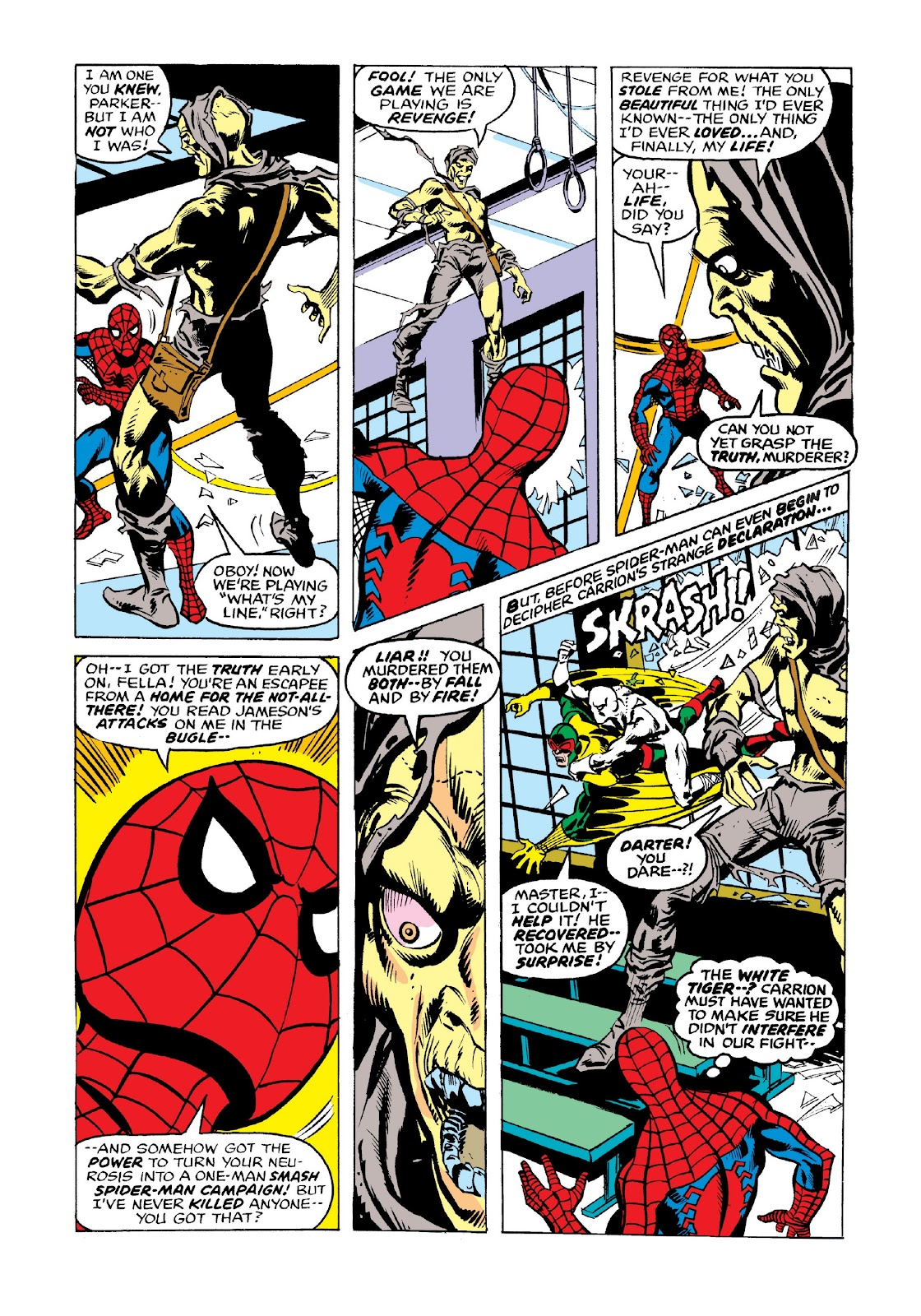 Read online Marvel Masterworks: The Spectacular Spider-Man comic -  Issue # TPB 2 (Part 3) - 60