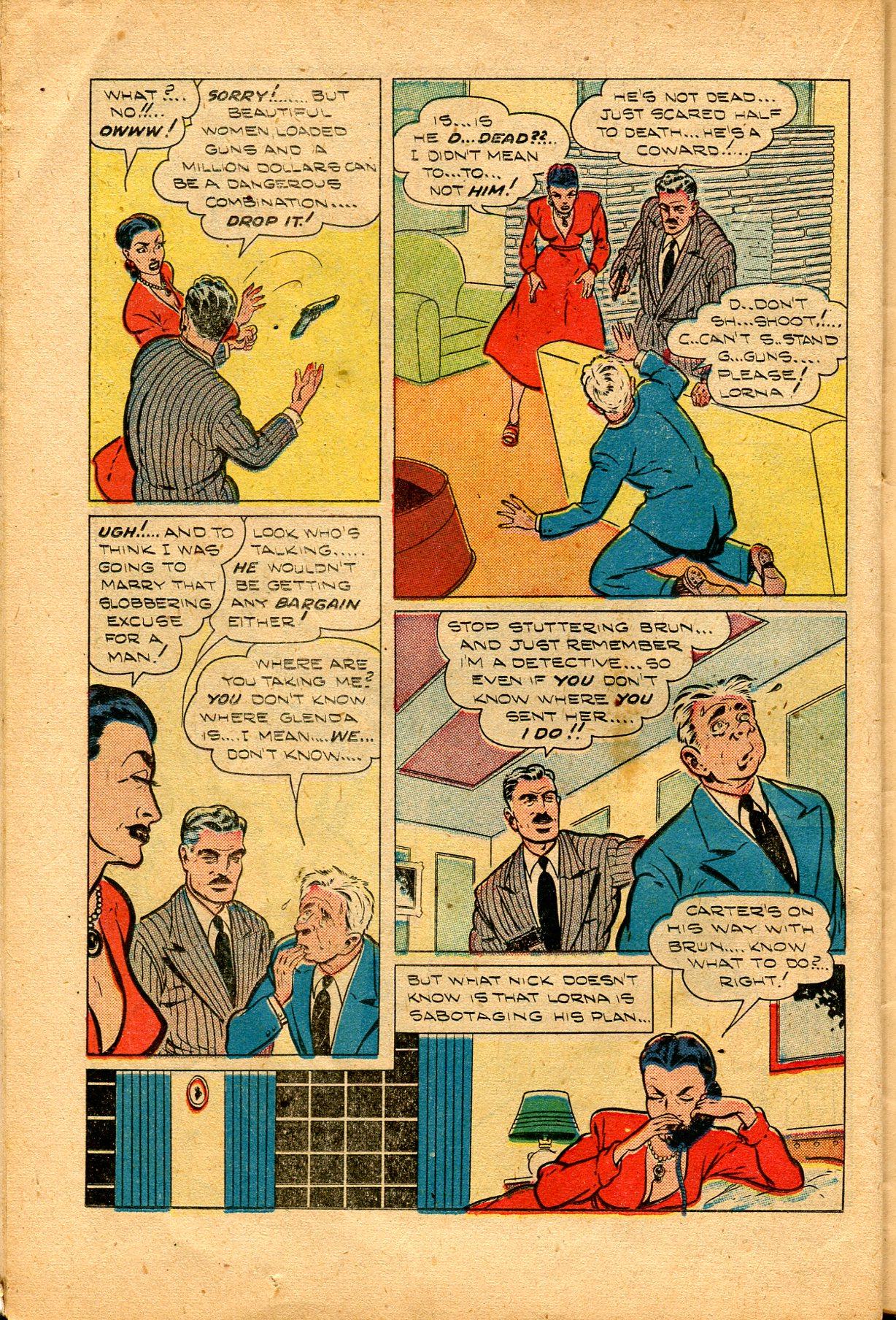 Read online Shadow Comics comic -  Issue #94 - 32