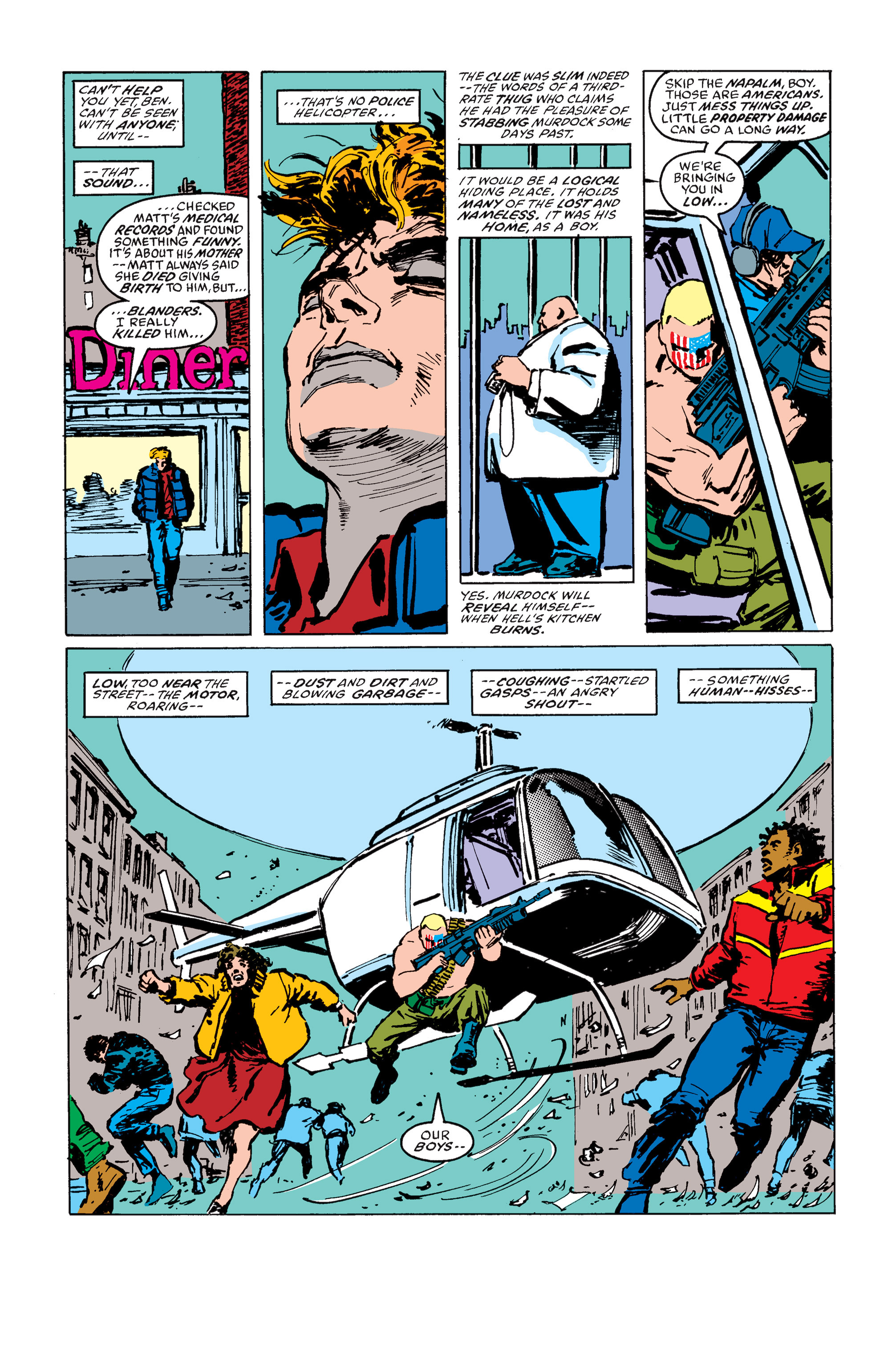Read online Daredevil: Born Again comic -  Issue # Full - 164