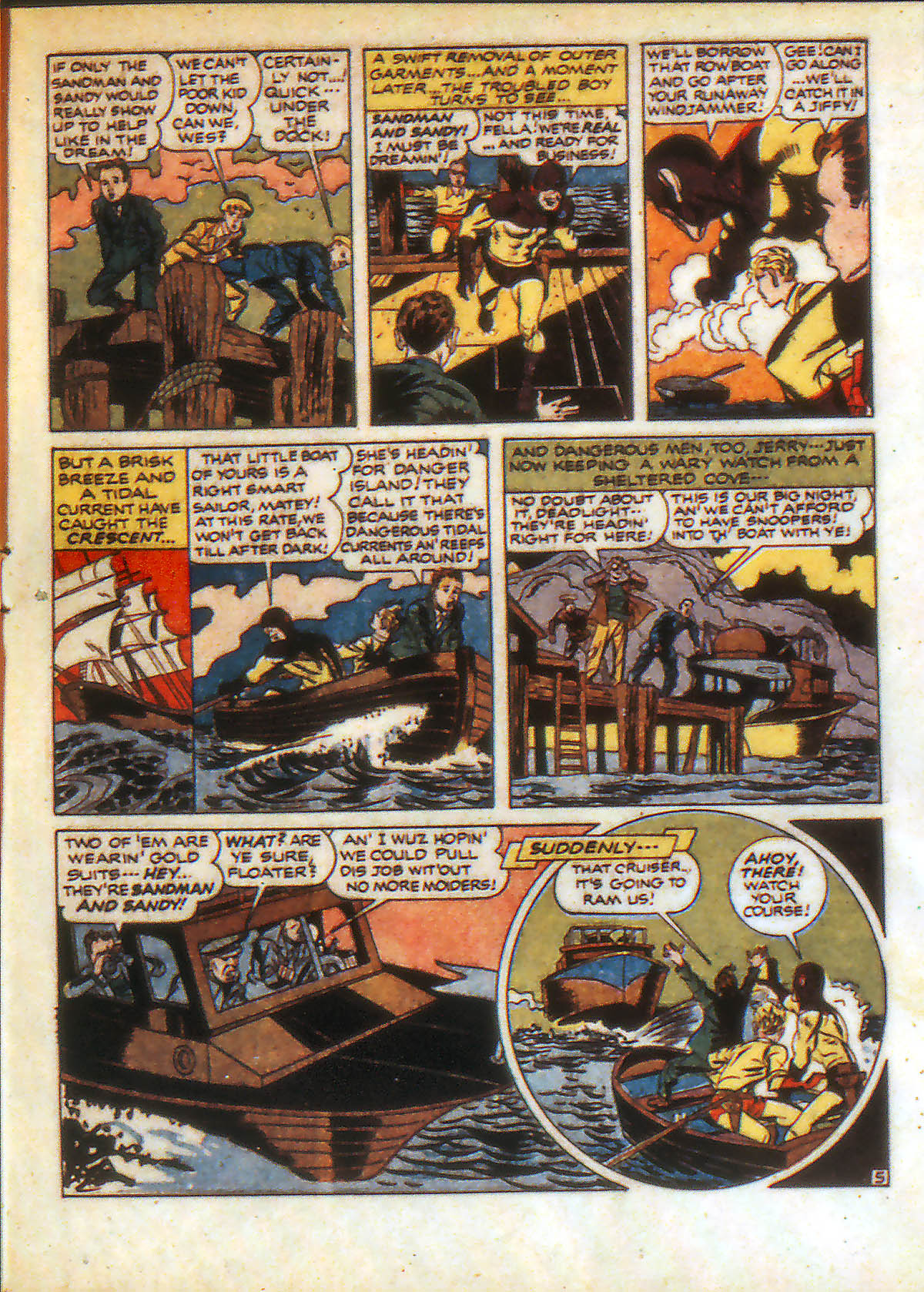 Read online Adventure Comics (1938) comic -  Issue #88 - 7
