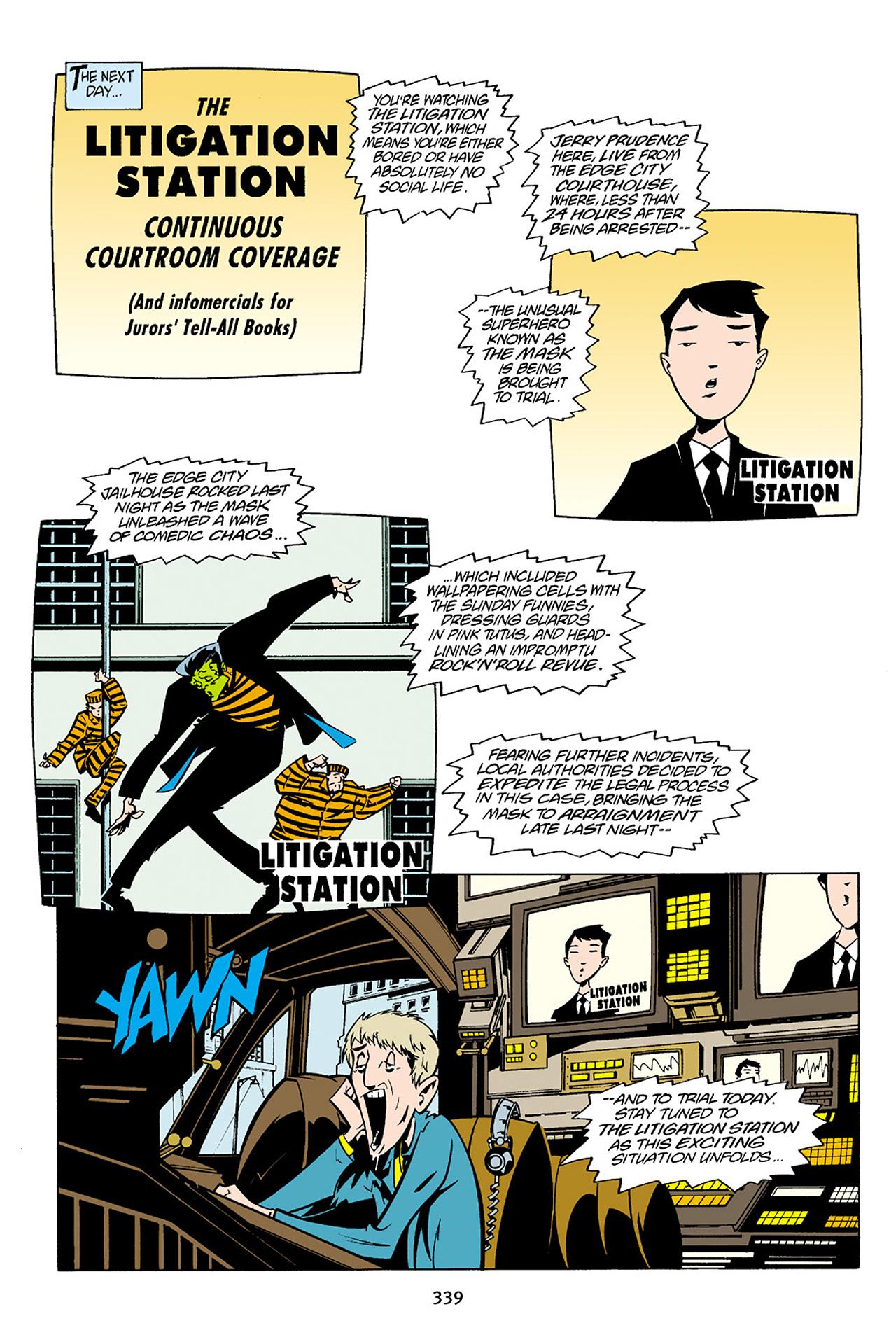Read online Adventures Of The Mask Omnibus comic -  Issue #Adventures Of The Mask Omnibus Full - 338