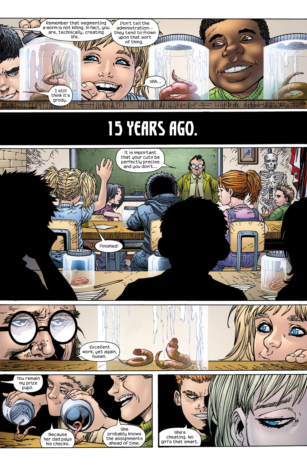 Read online Ultimate Fantastic Four (2004) comic -  Issue #59 - 10