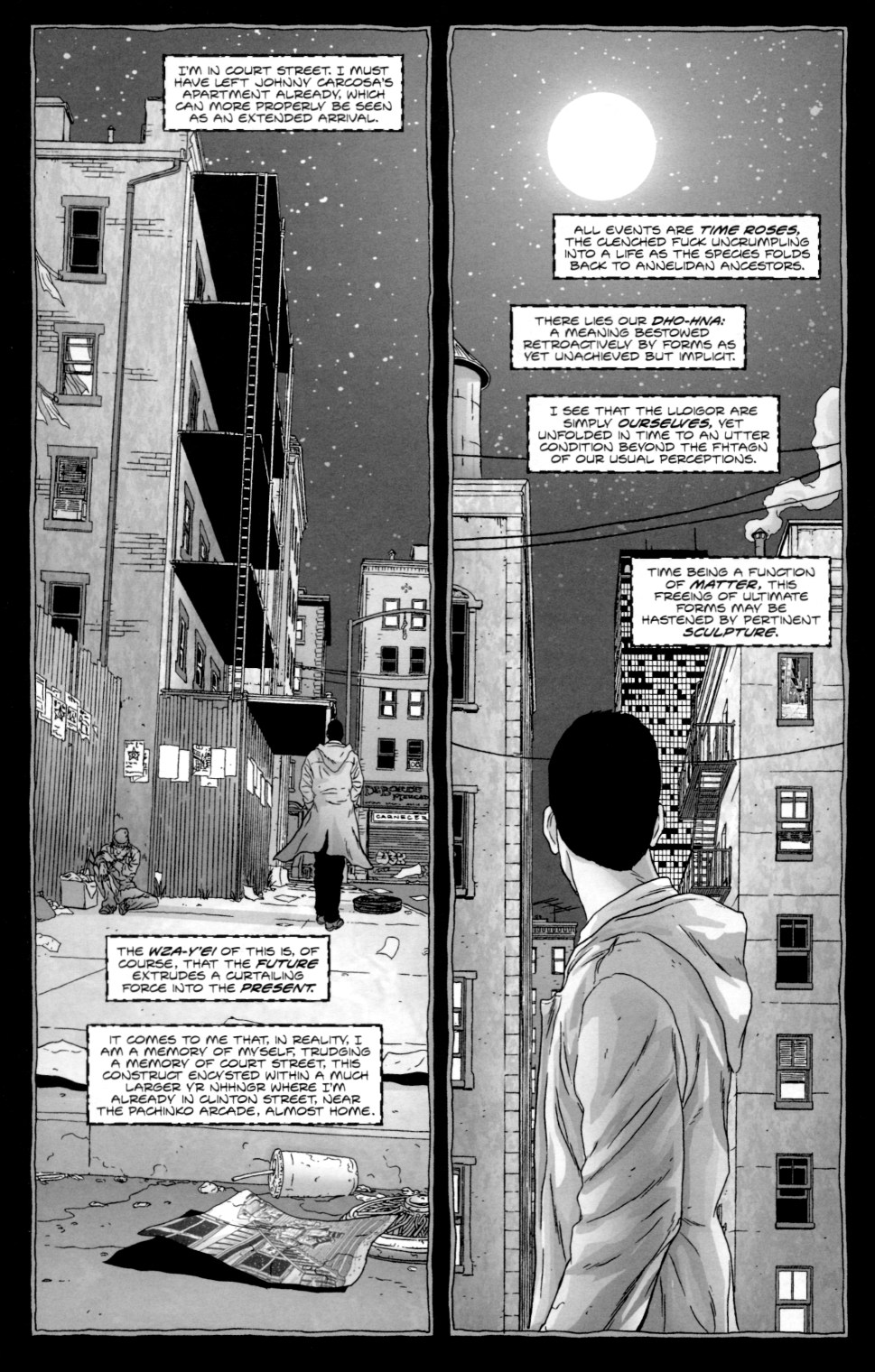 Read online Alan Moore's The Courtyard comic -  Issue #2 - 20