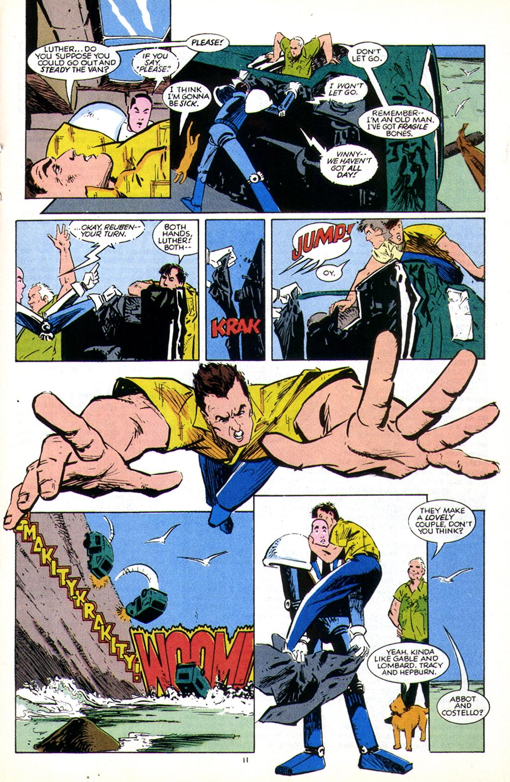 Read online American Flagg! comic -  Issue #43 - 13