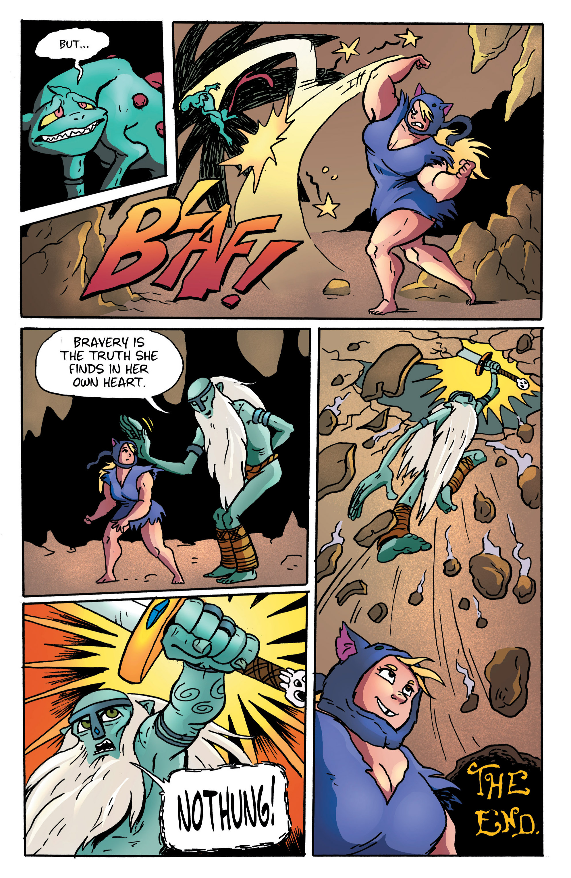 Read online Adventure Time comic -  Issue #11 - 28