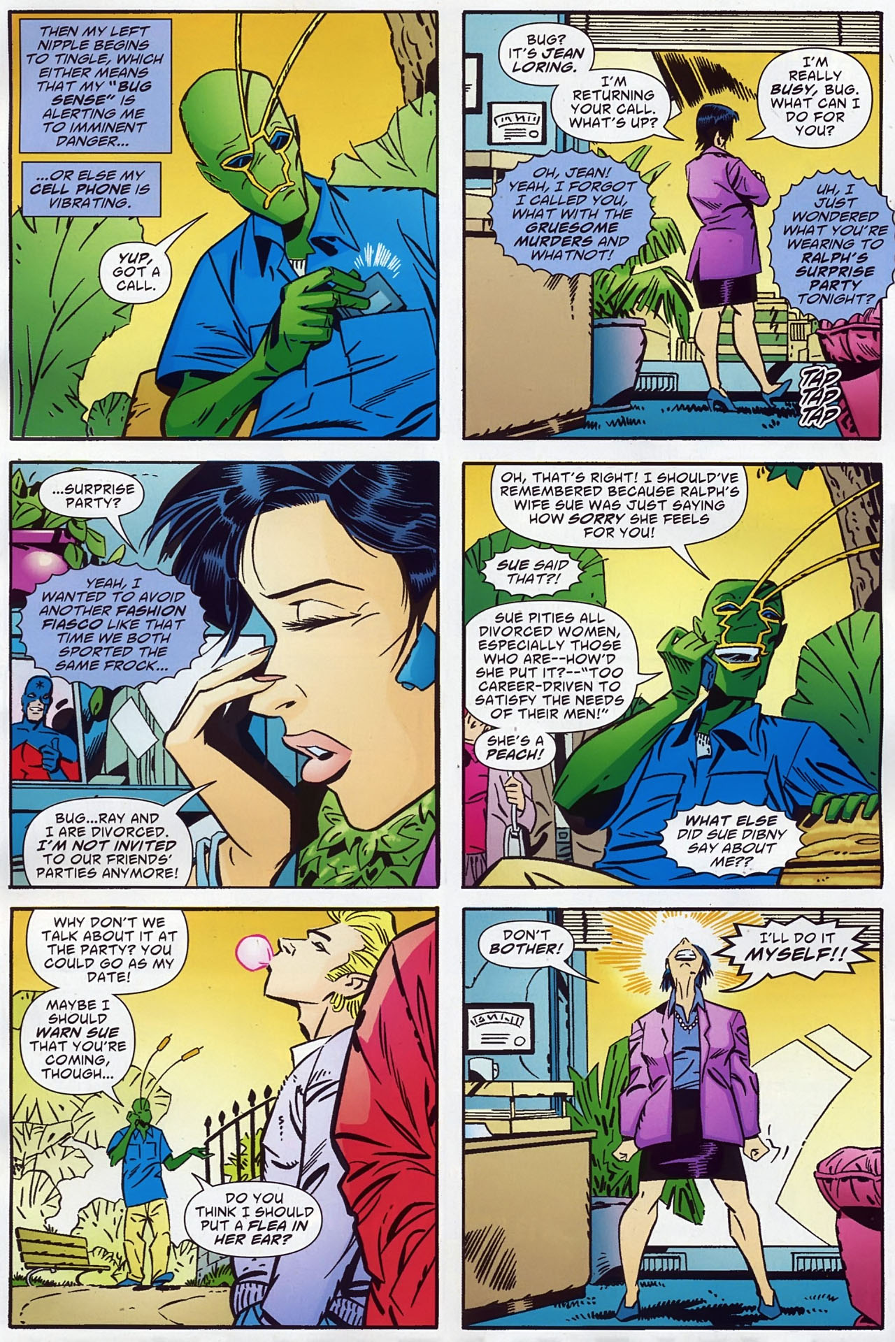 Read online Ambush Bug: Year None comic -  Issue #1 - 8