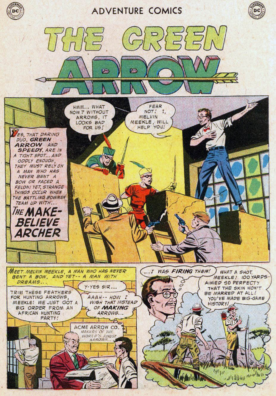 Read online Adventure Comics (1938) comic -  Issue #236 - 27
