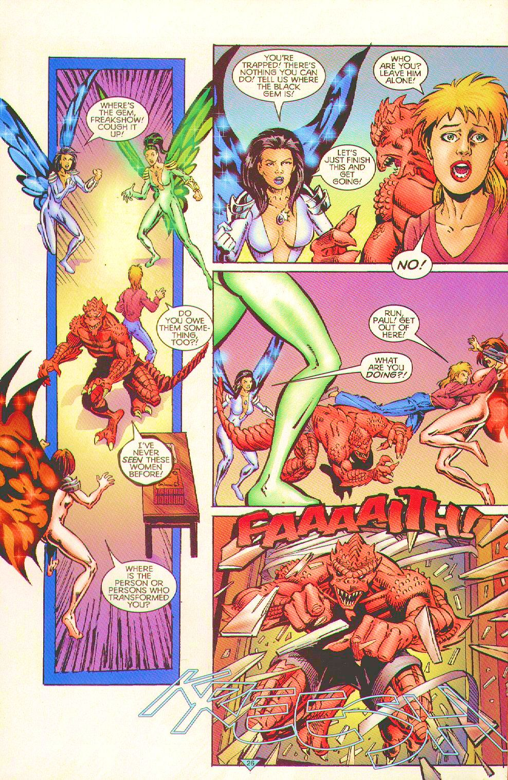 Read online Trinity Angels comic -  Issue #6 - 22