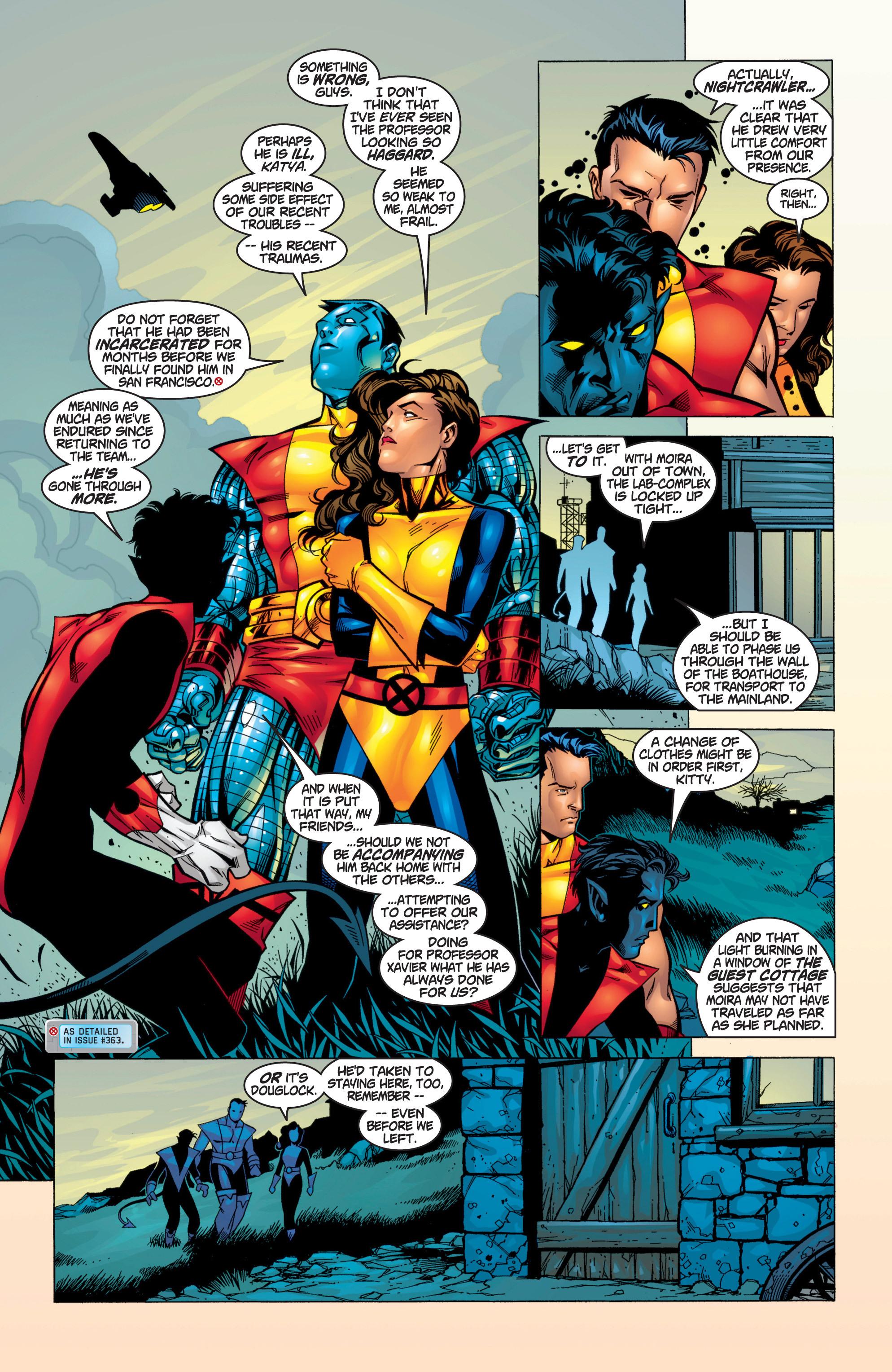Read online Uncanny X-Men (1963) comic -  Issue #371 - 18