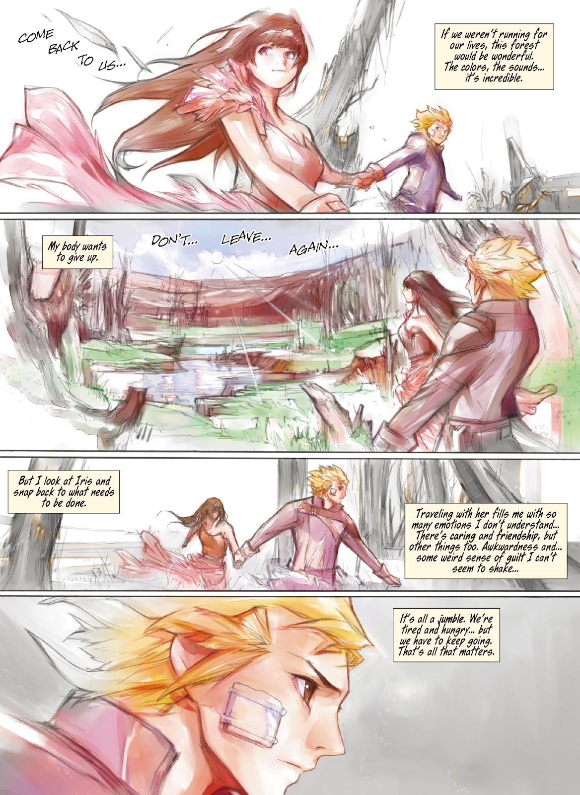 Read online Makeshift Miracle: The Girl From Nowhere comic -  Issue #10 - 10
