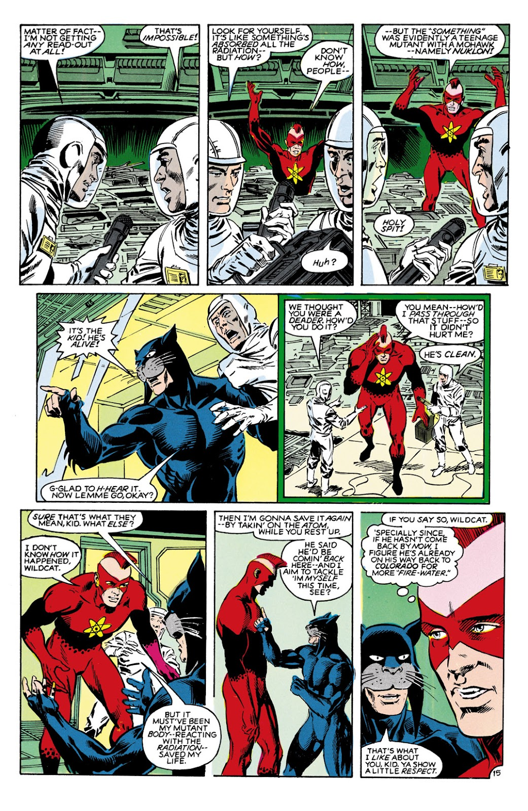 Infinity Inc. (1984) issue 9 - Page 15
