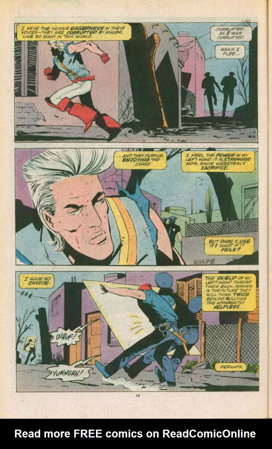 Read online Justice (1986) comic -  Issue #11 - 11